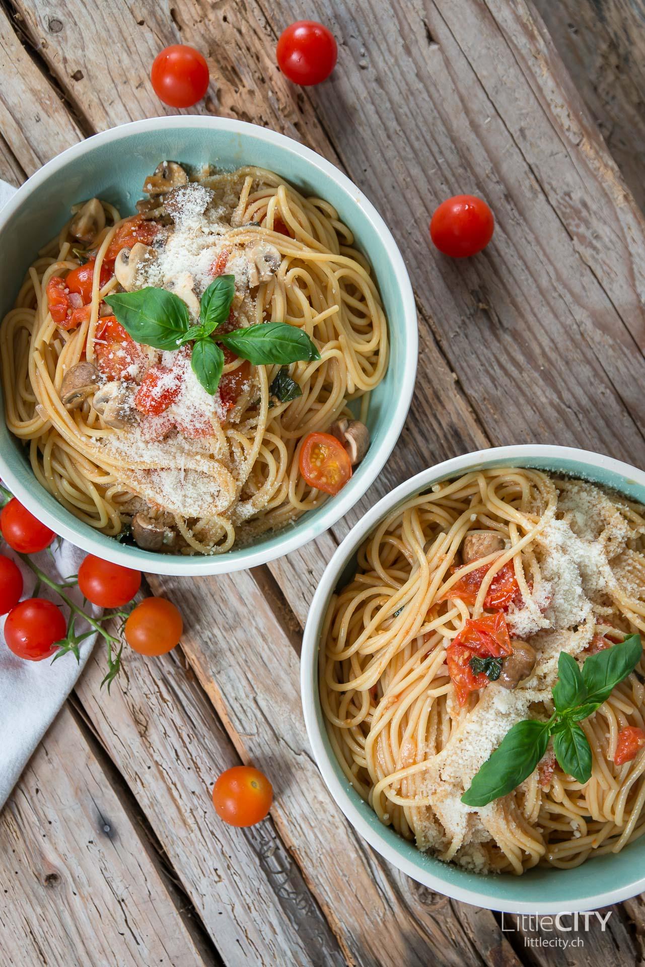 One Pot Pasta mit Tomaten Rezept-4