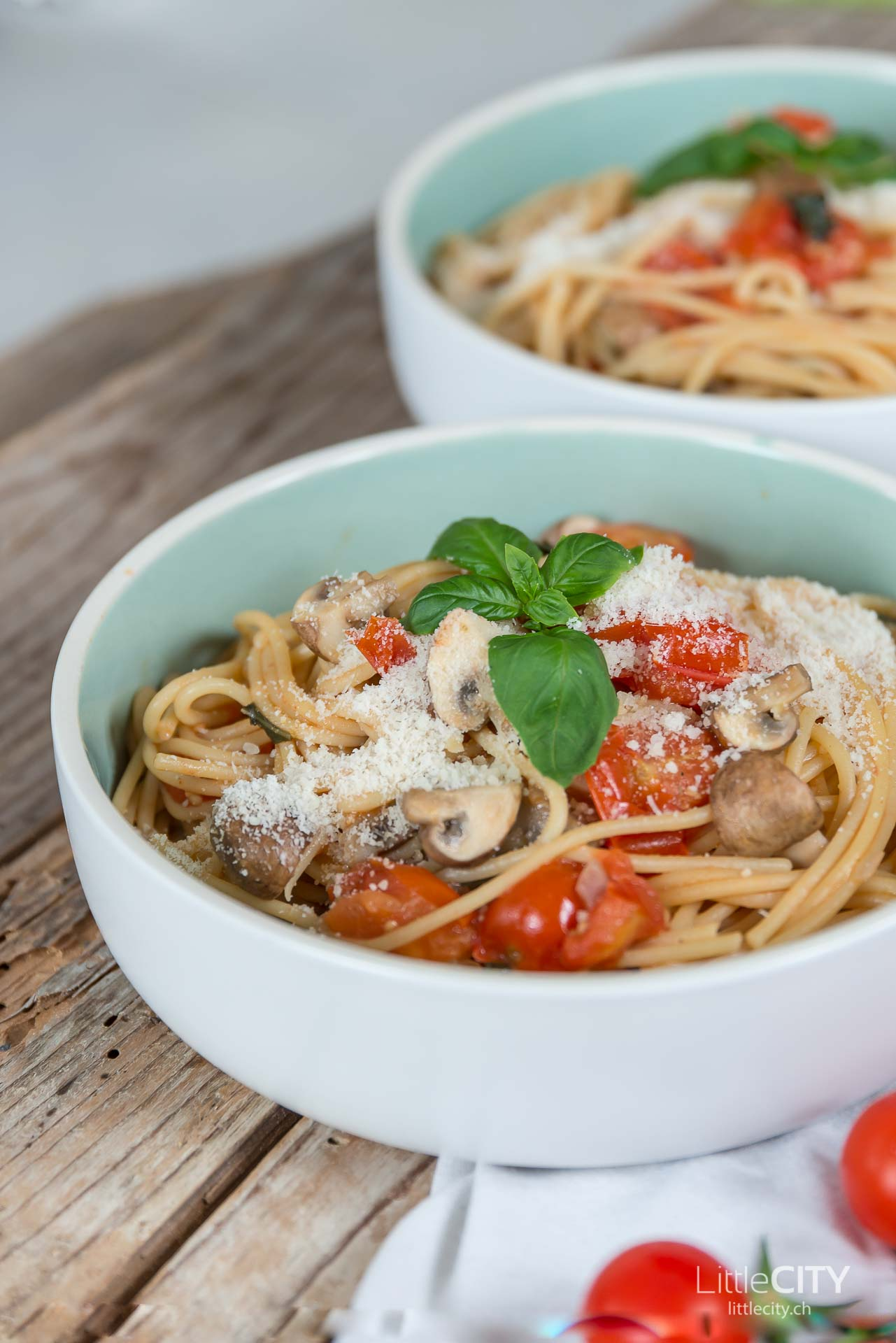 One Pot Pasta mit Tomaten Rezept-6