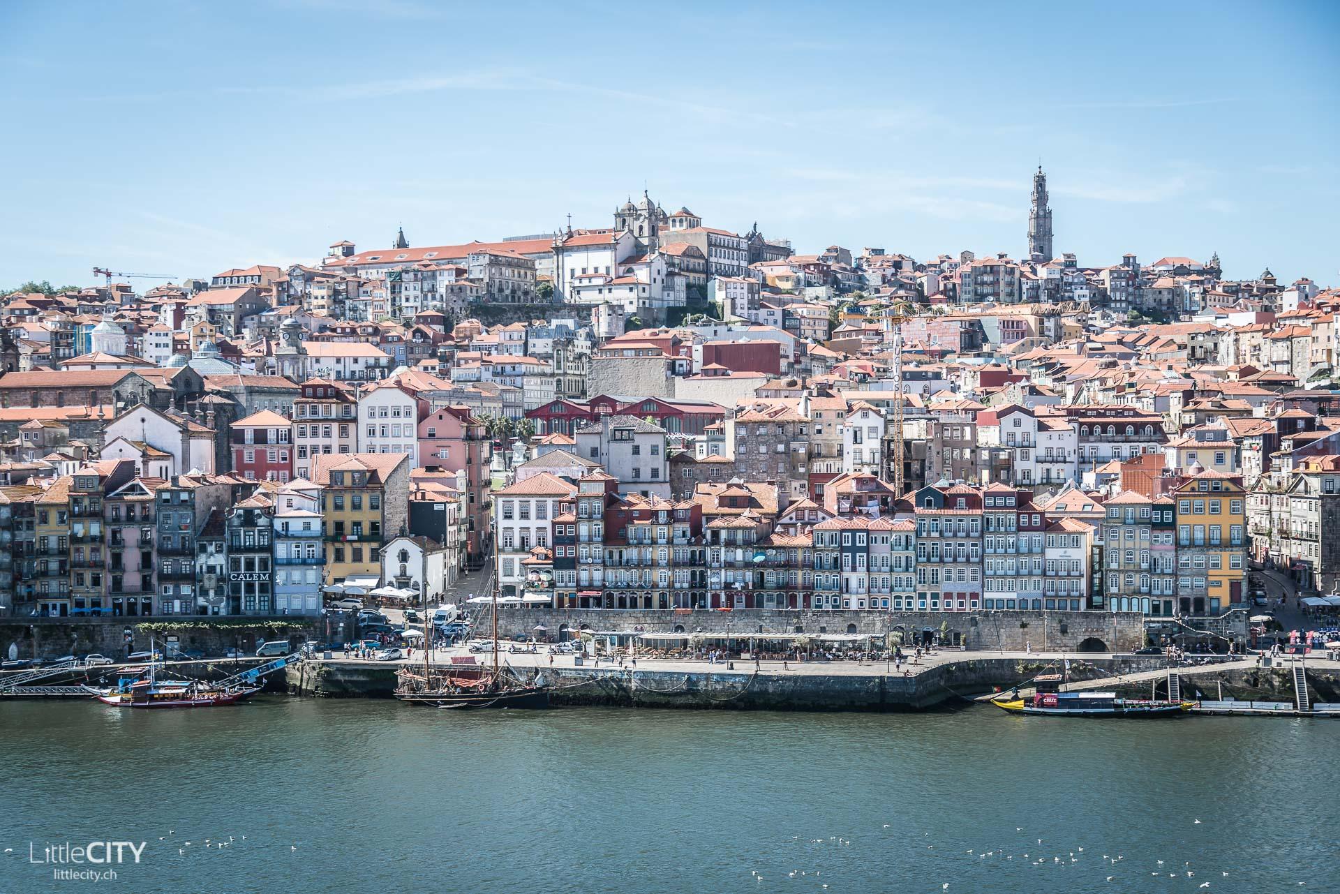 Porto Duoro Fluss Altstadt-1