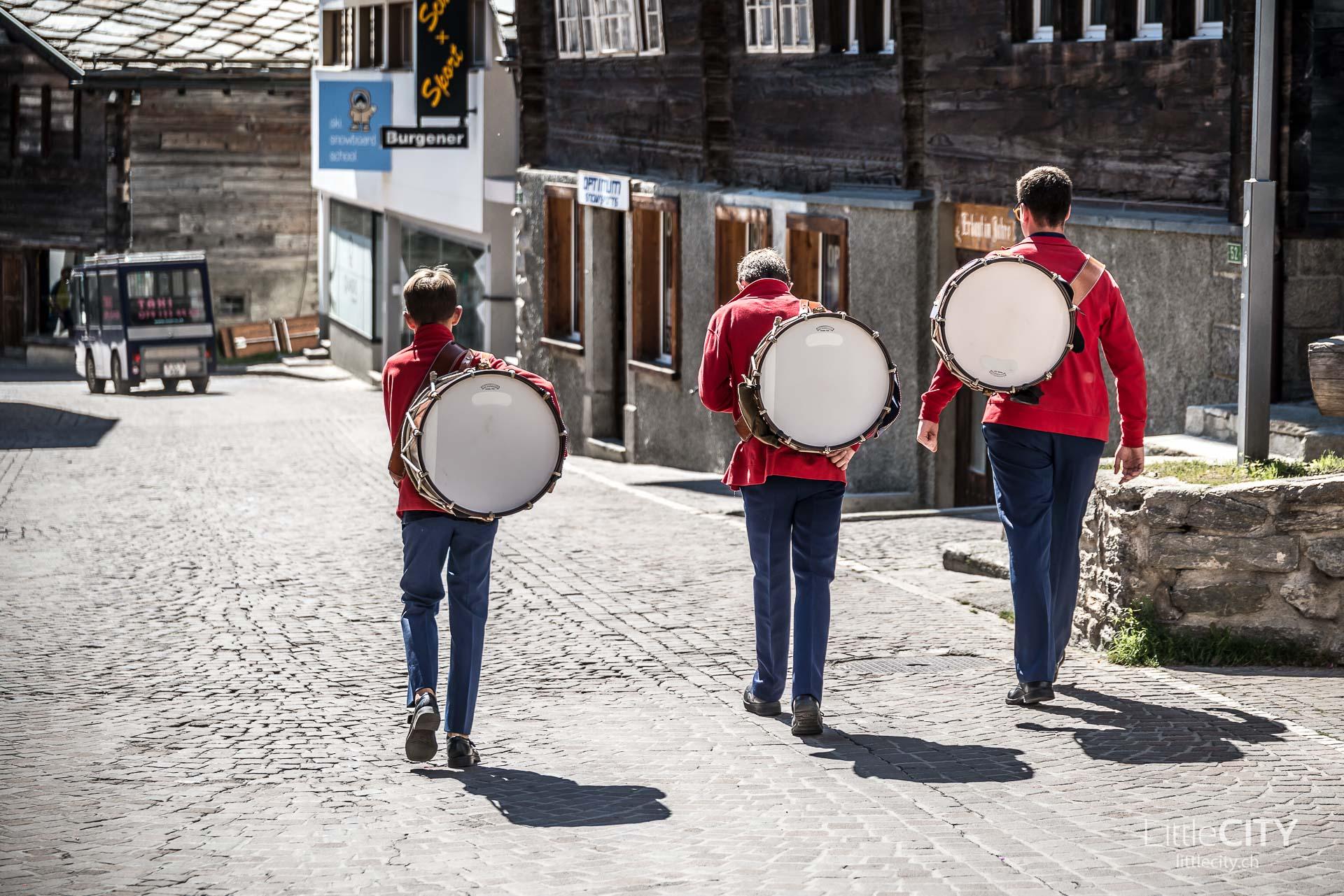 Saas Fee Wallis Musiker-1