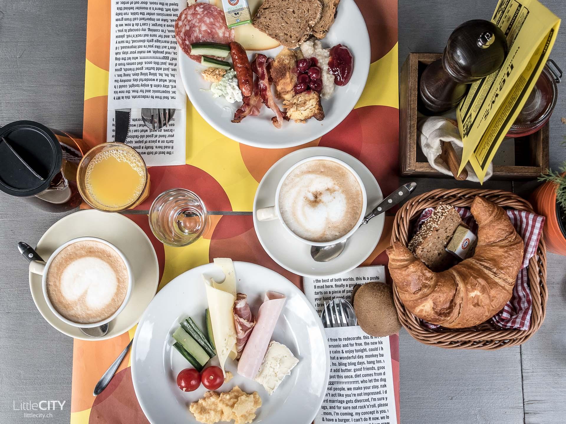 Wien 25hours Hotel Brunch Frühstück