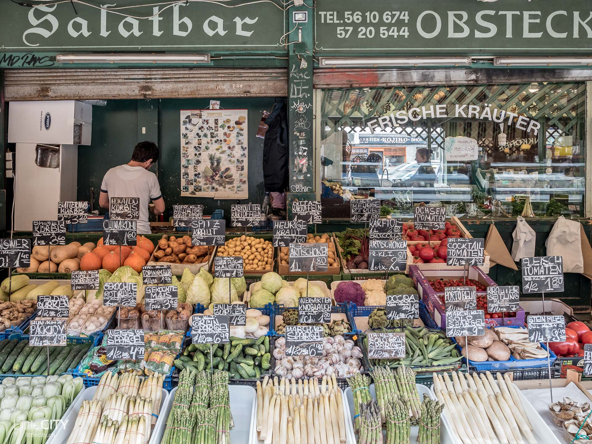 Wien Naschmarkt Gemüse