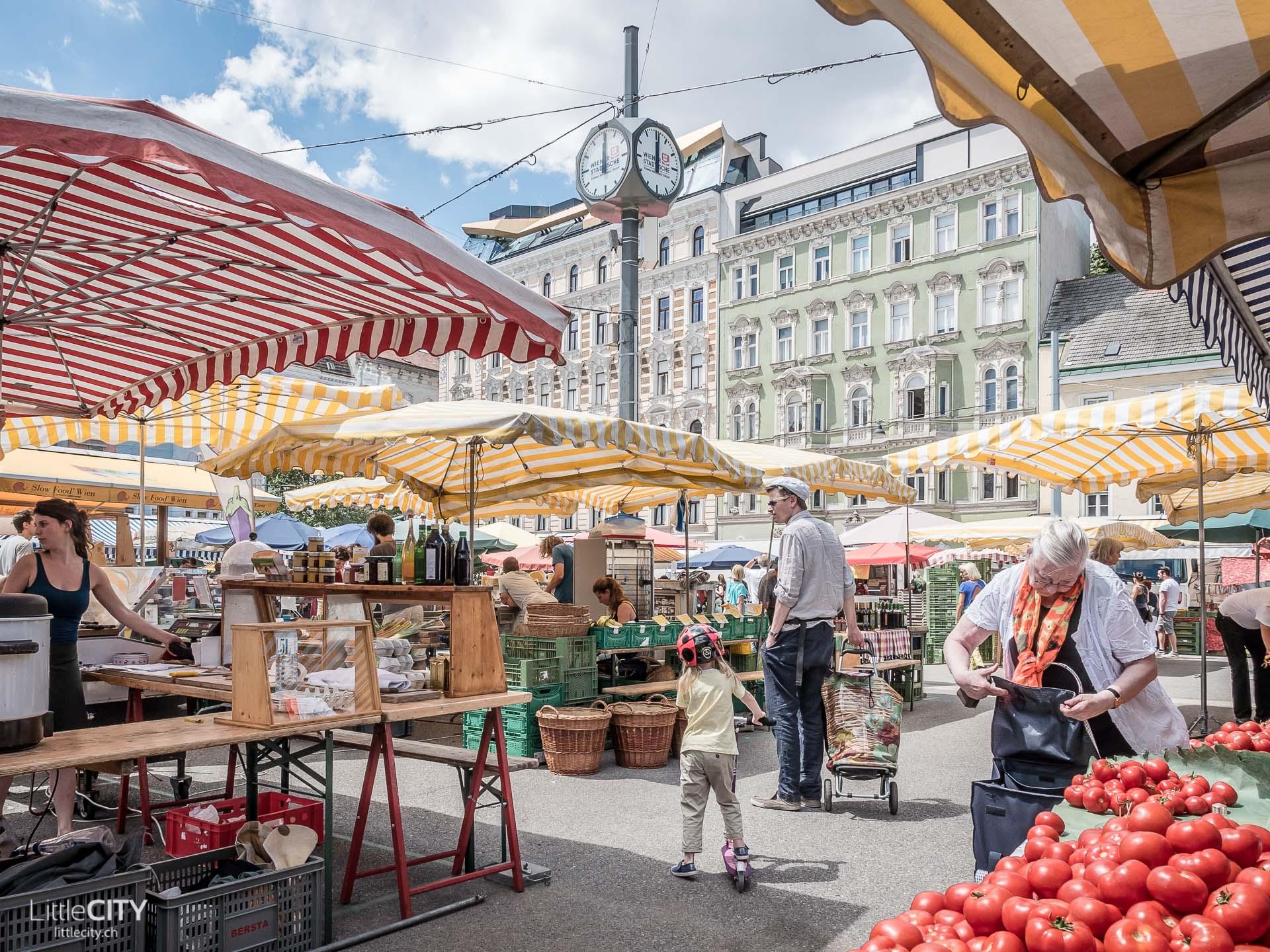 Wien Karmelittenmarkt Reisetipp