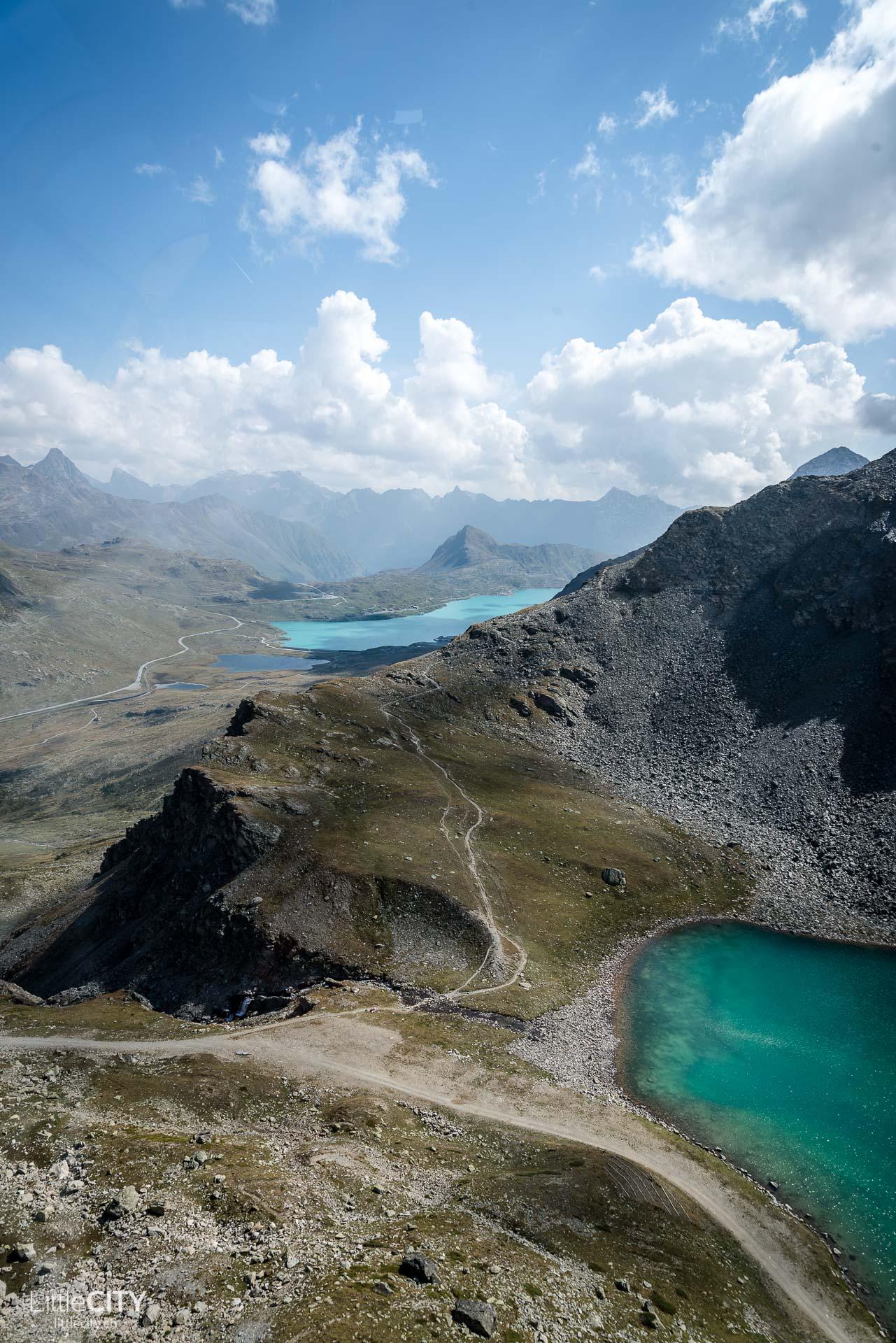 Engadin St. Moritz Morteratsch Gletscher