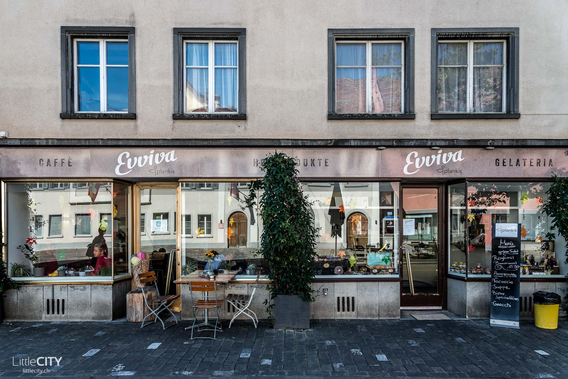 Chur Café: Evviva PlankisGelateria Caffe