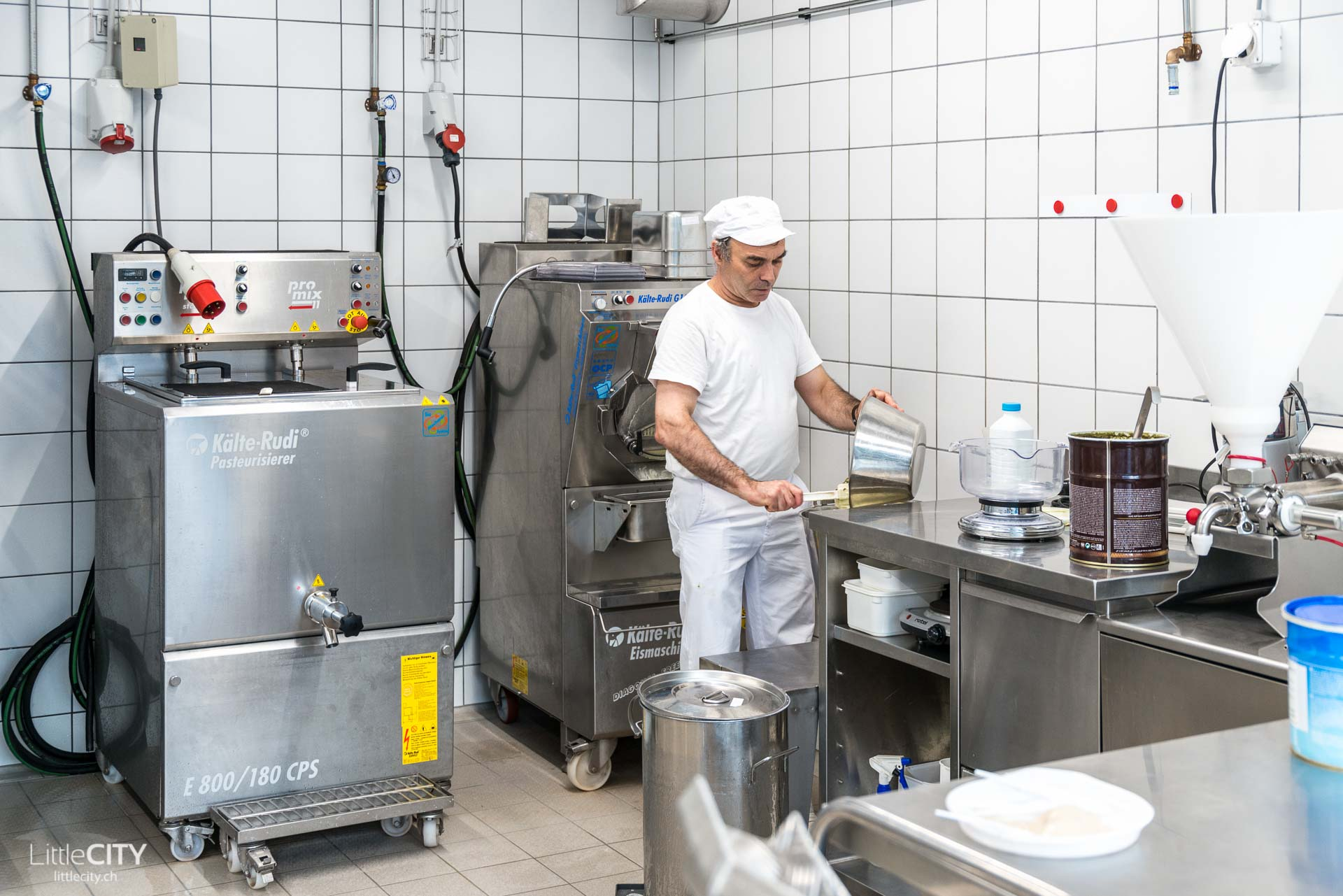 Stiftung Plankis Glace Produktion