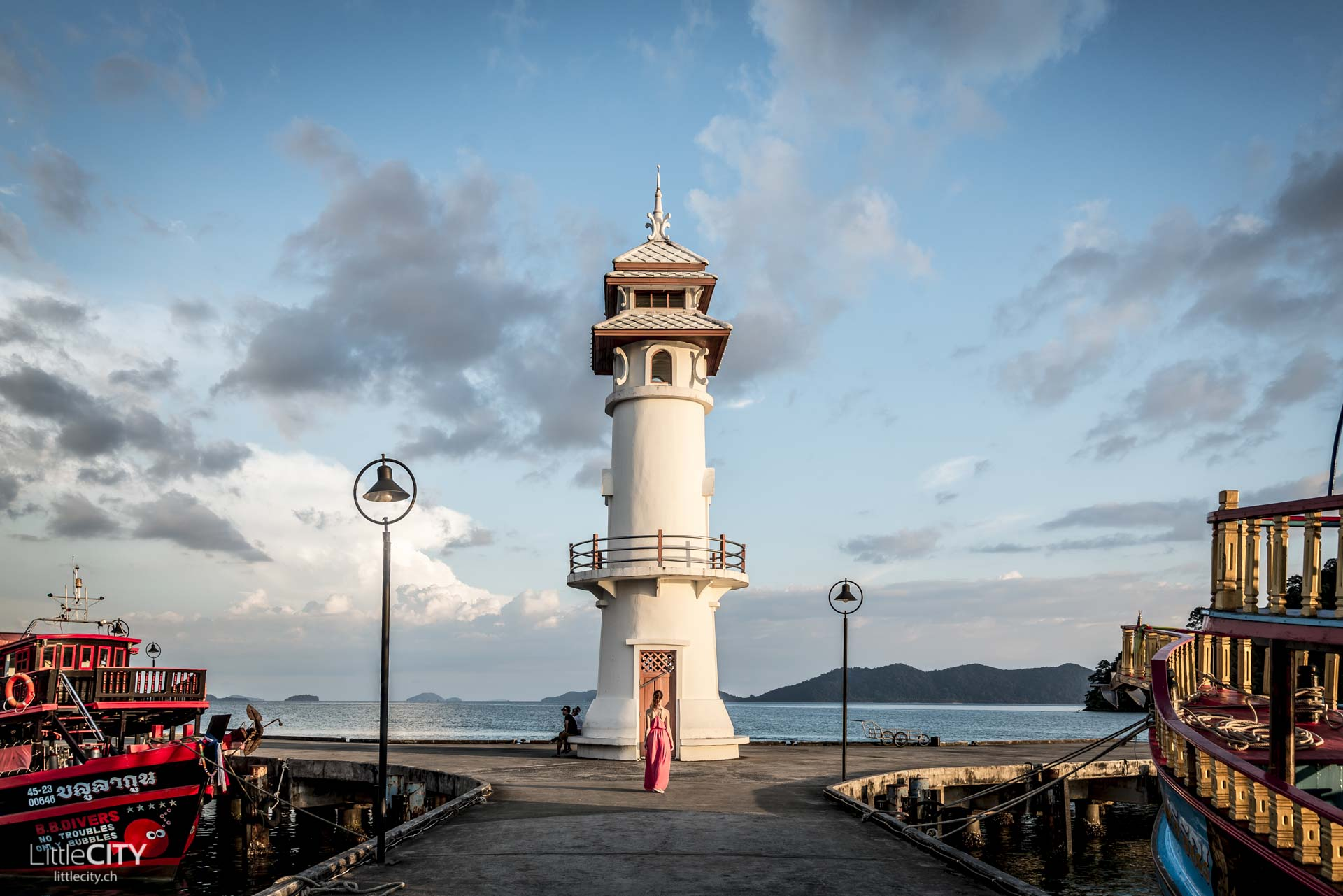 Koh Chang Bang Bao Lighthouse Leuchtturm