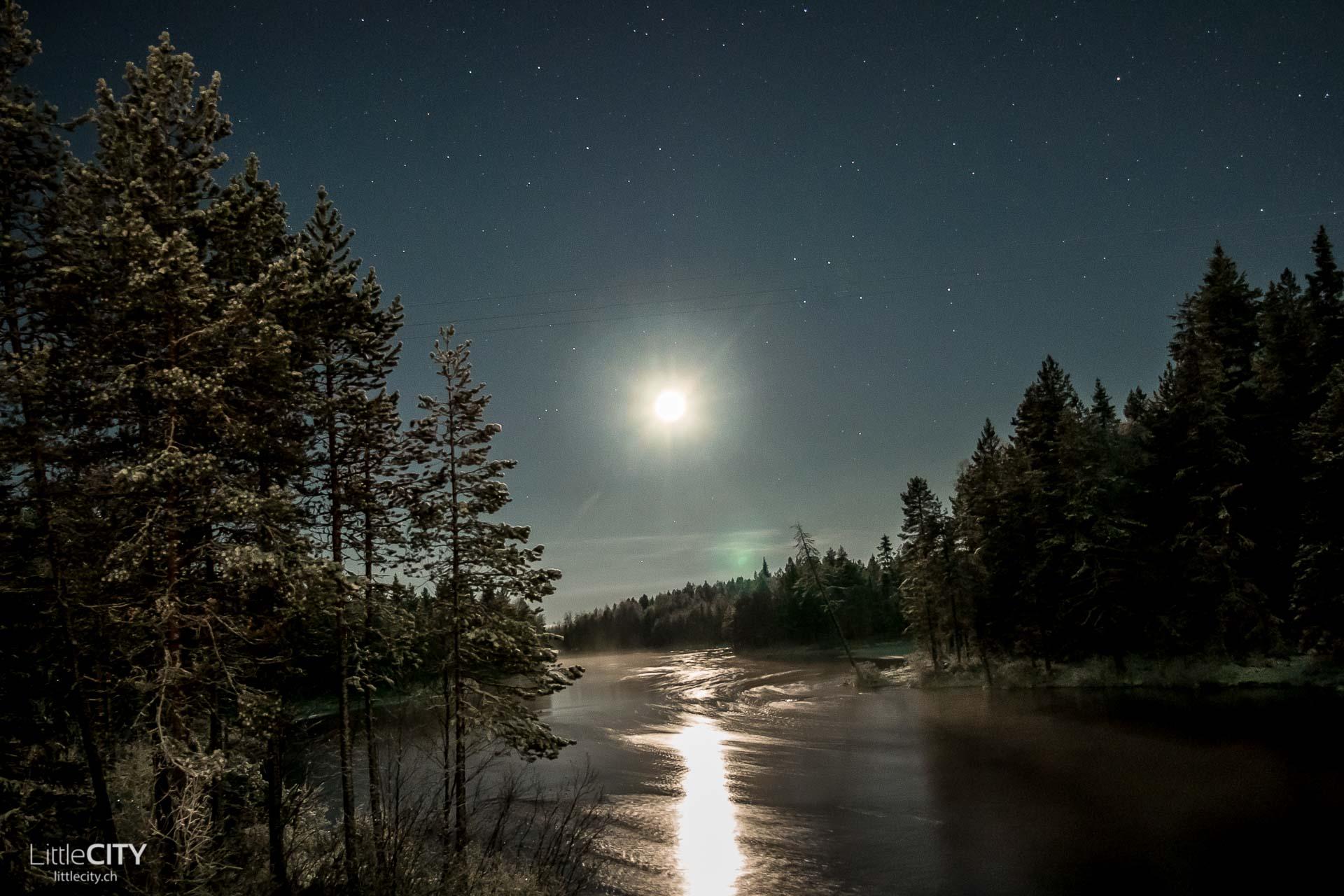 Lappland Nordlichter Ruka