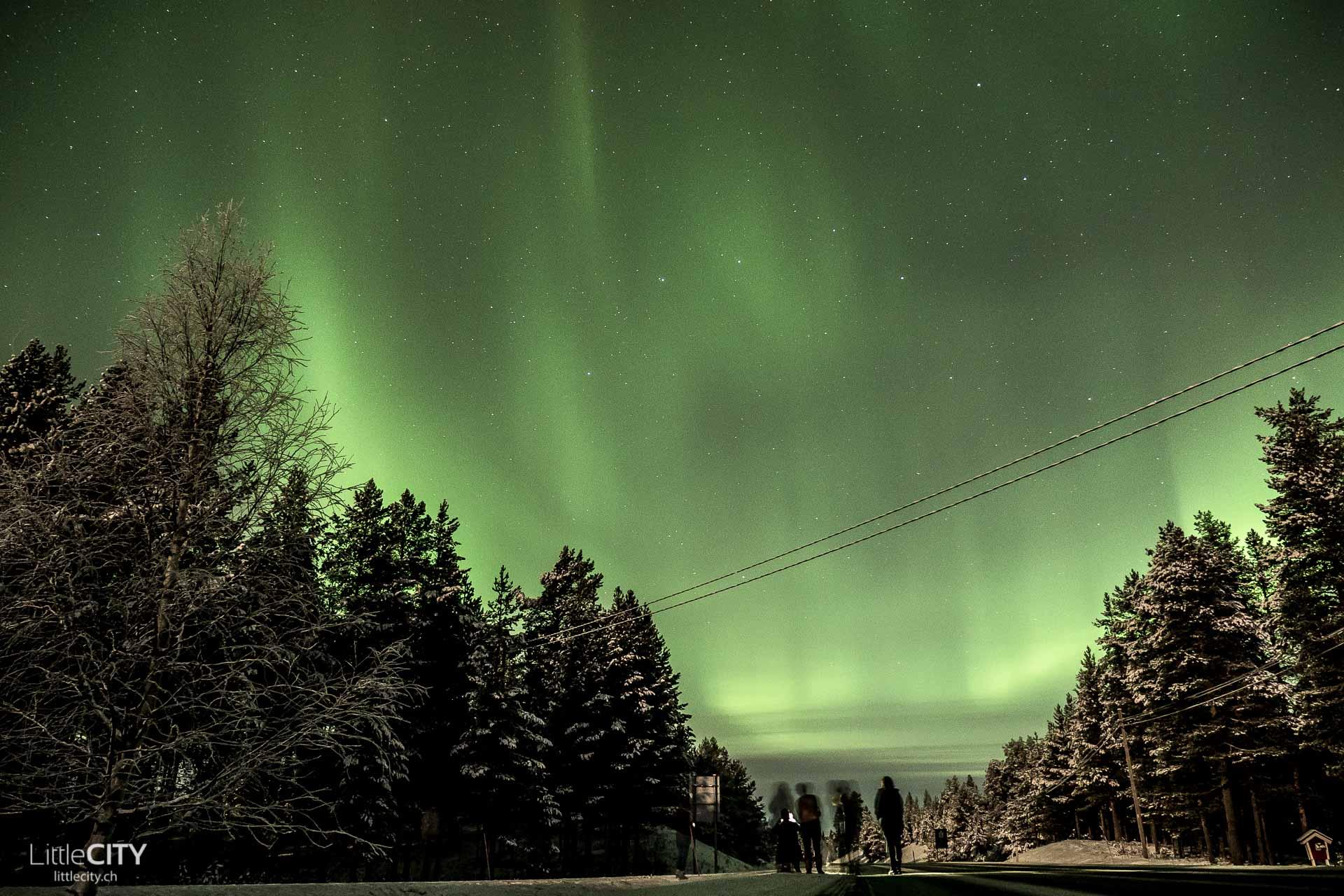 nordlichter-ruka-rovaniemi-lappland