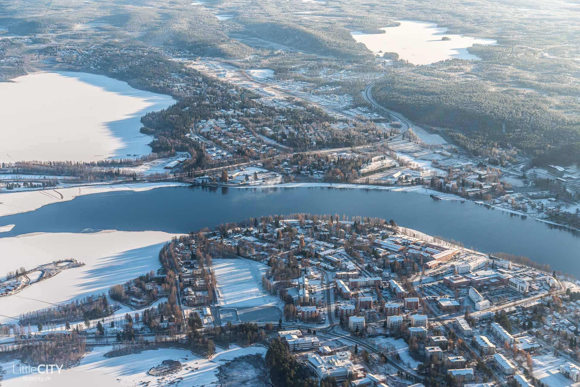 Rovaniemi Lappland Germania Flug