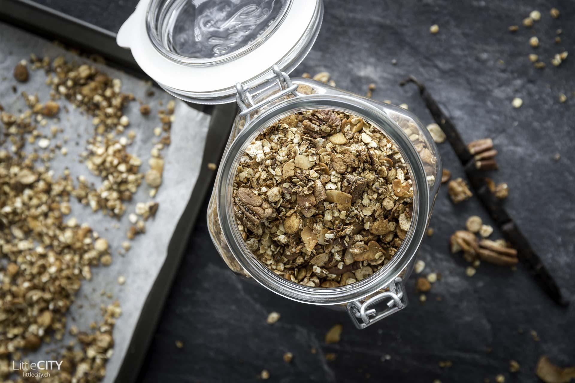 Knusper Muesli ohne Zucker selber machen