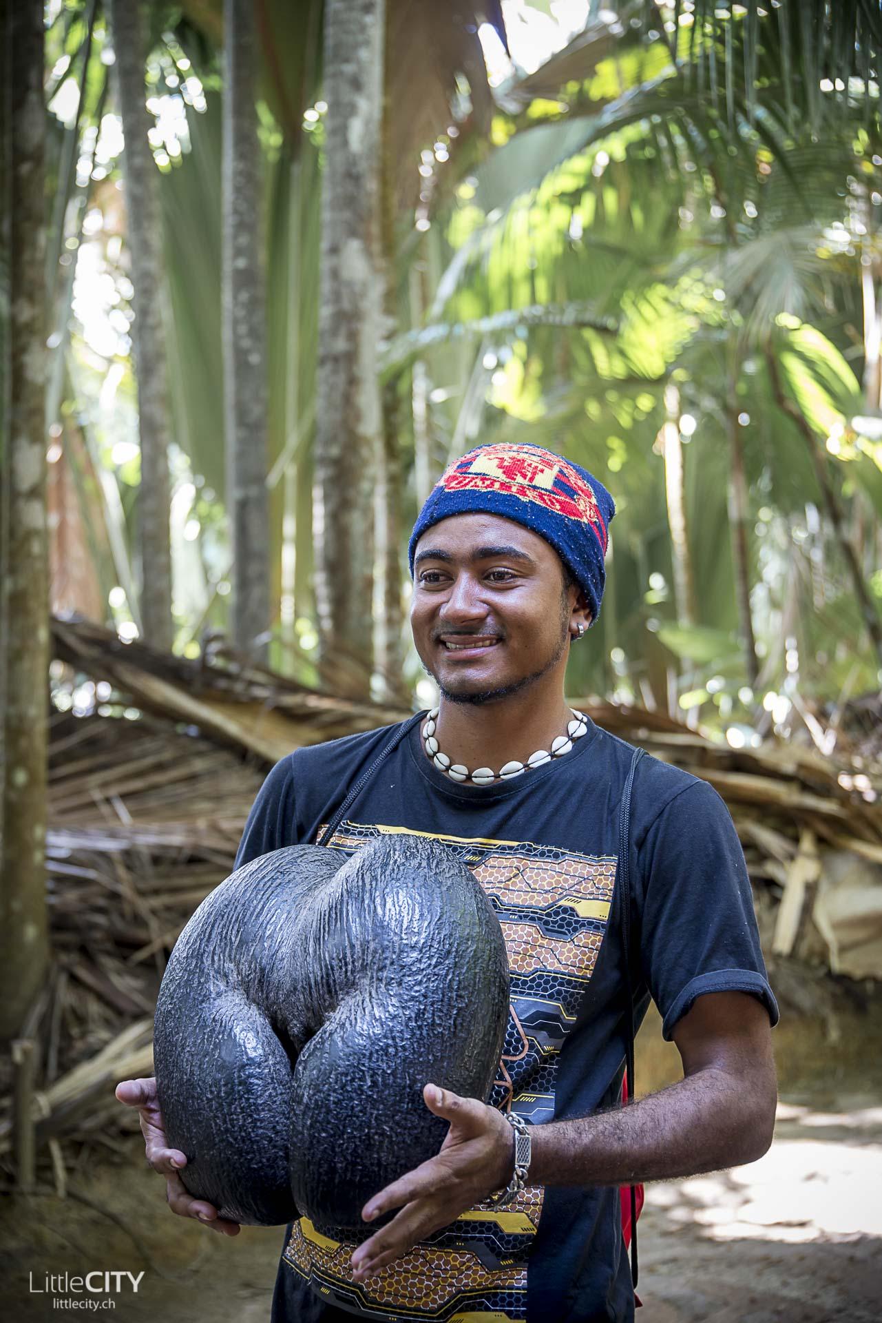Coco de Mer Valle du Mai Praslin Seychellen