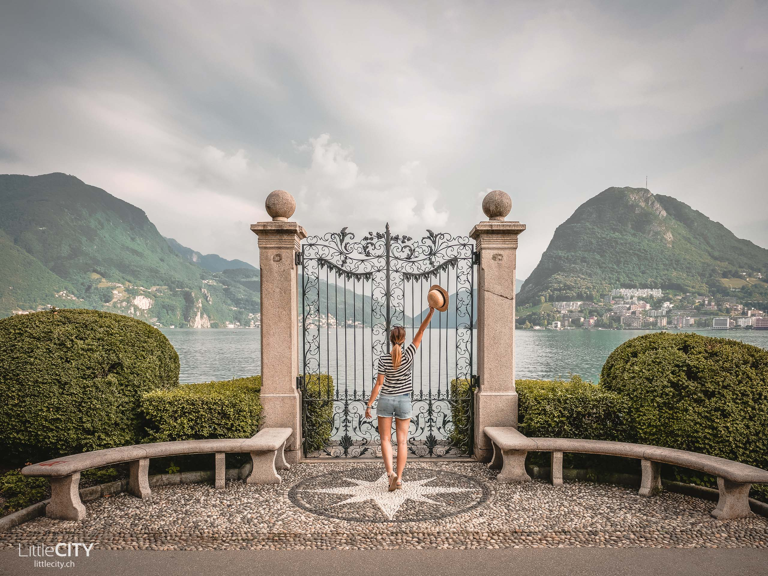 Lugano Parco Ciano Luganersee