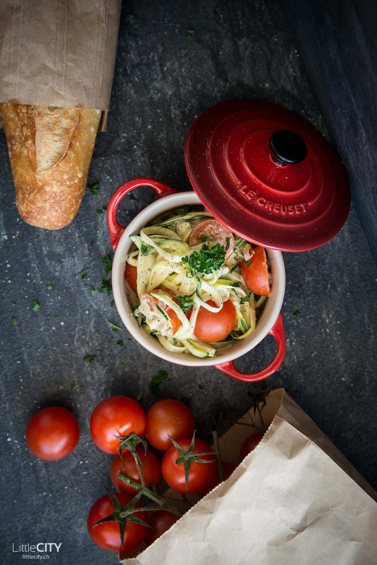Zucchini Nudeln Rezept