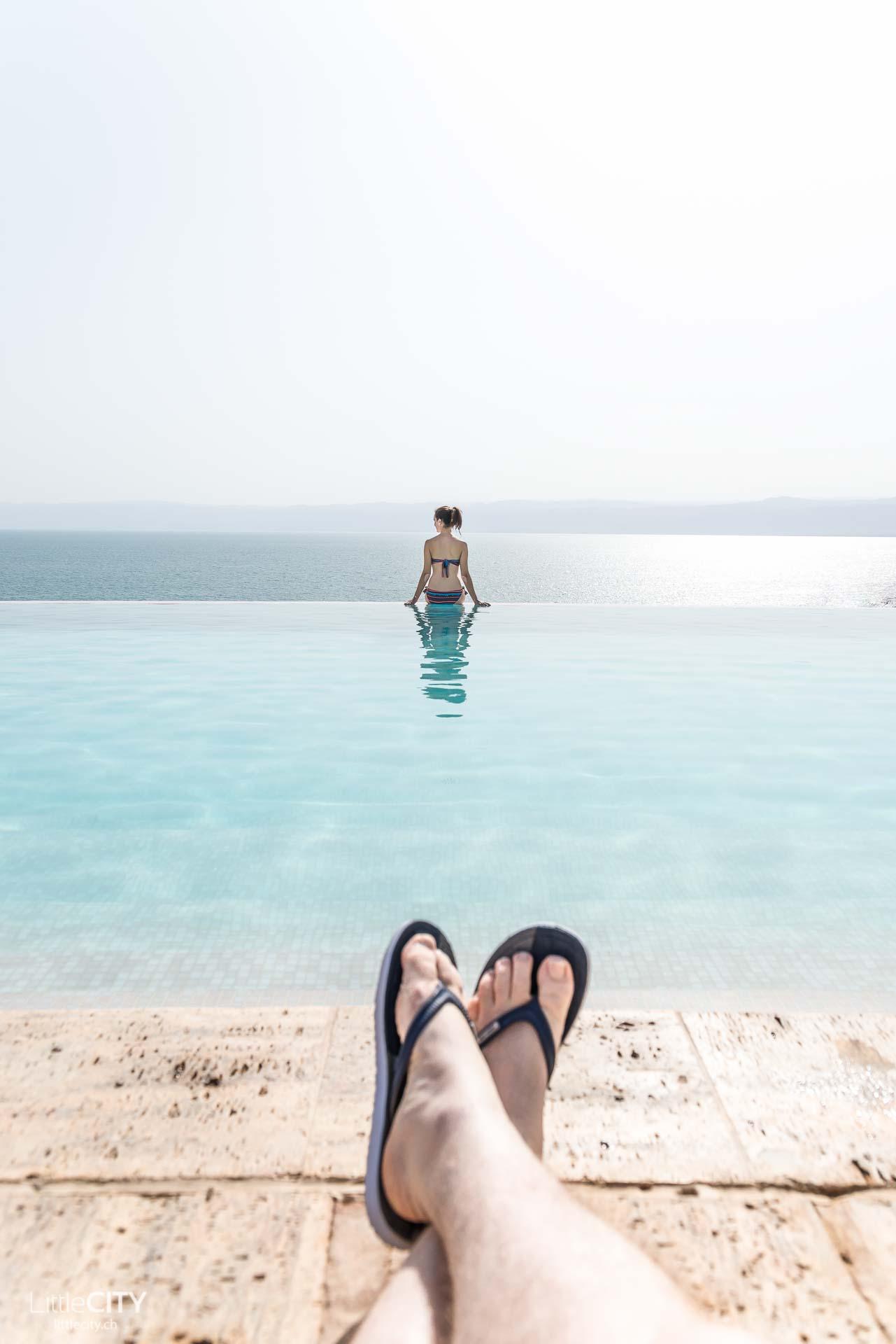 Jordanien Reisetipps baden im Toten Meer