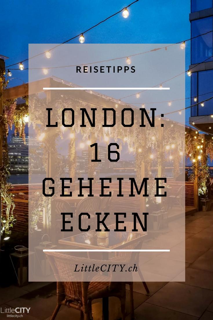 London Geheinem Ecken Pinterest