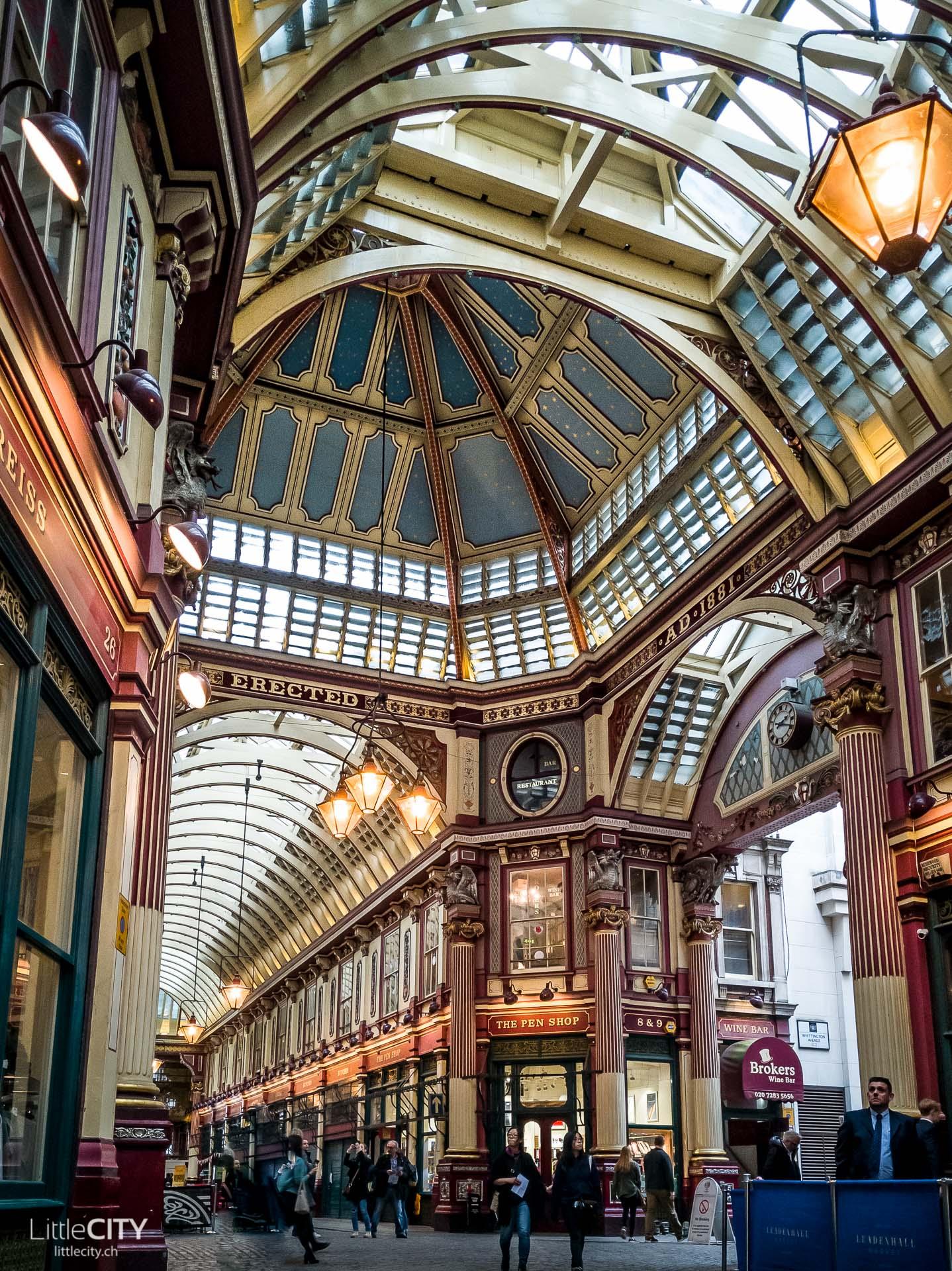 London Insidertipp: Leadenhall Market