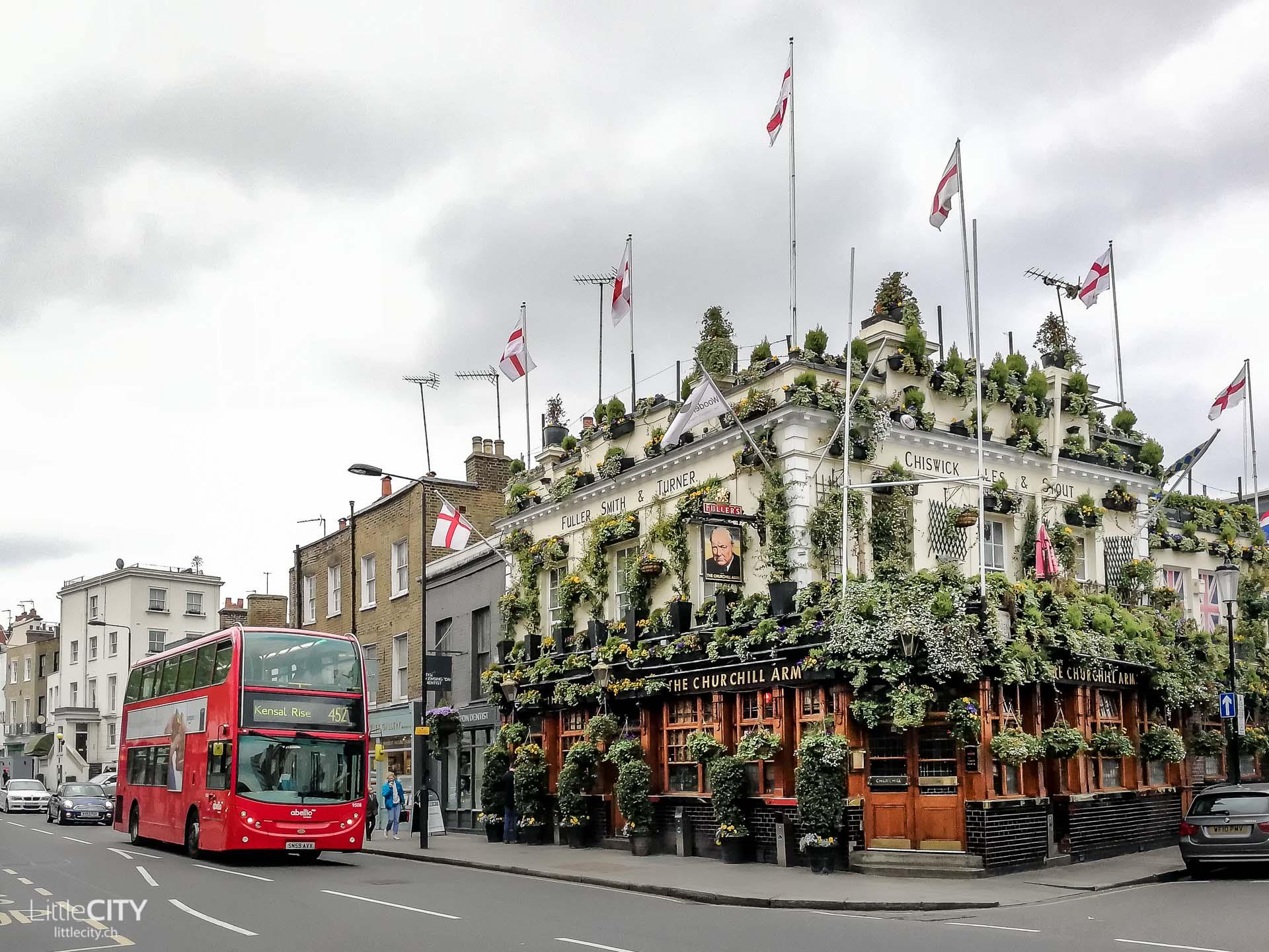 London Insidertipps: The Churchill Arms