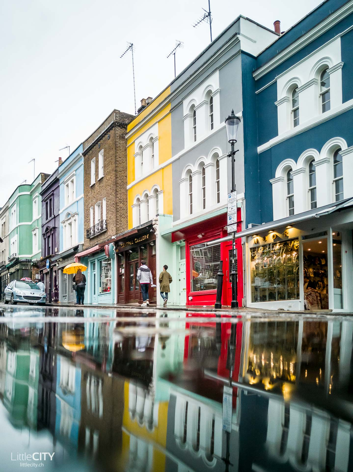 London Insidertipp Portobello Street Notting Hill