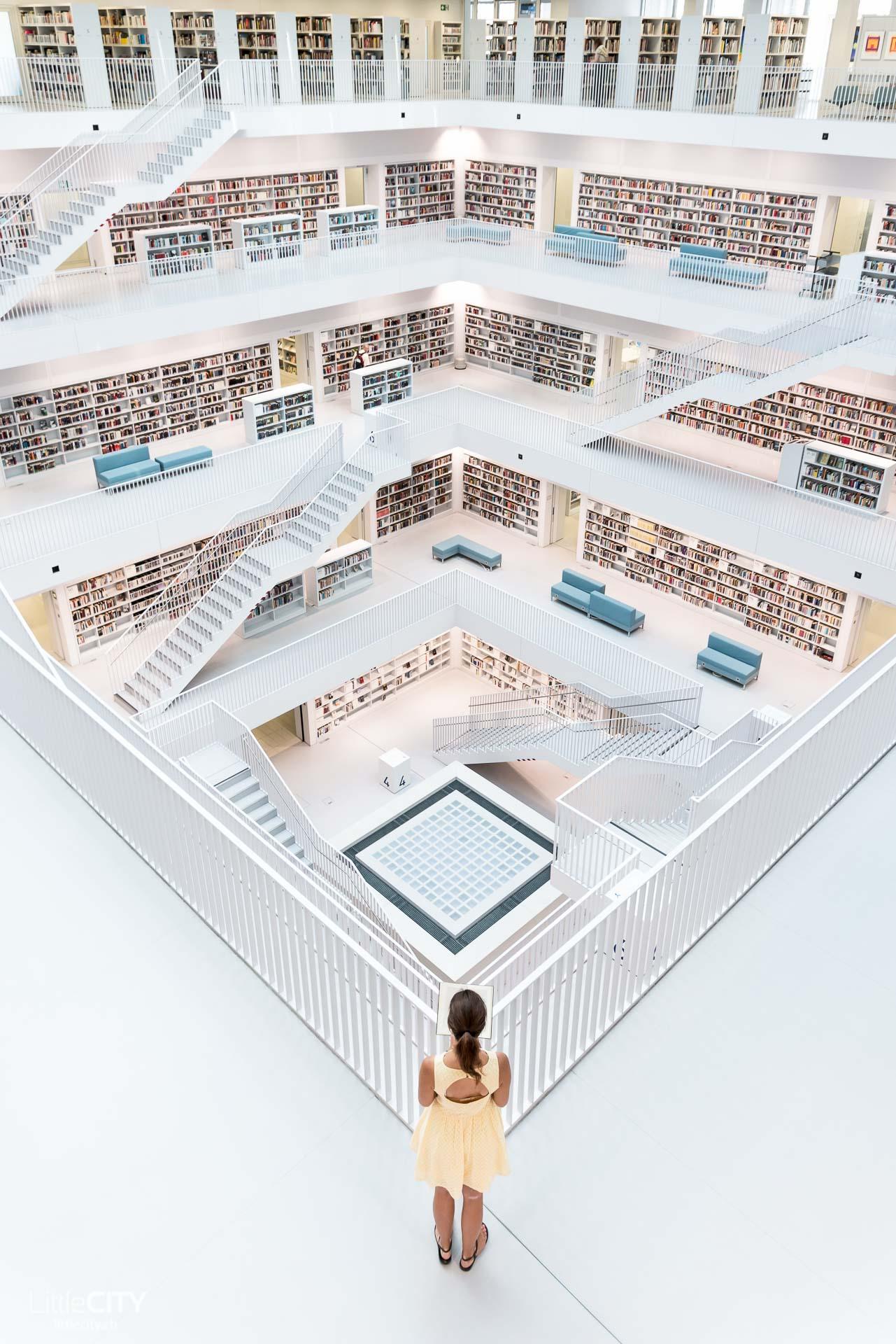 Stadtbibliothek Stuttgart Mailänderplatz