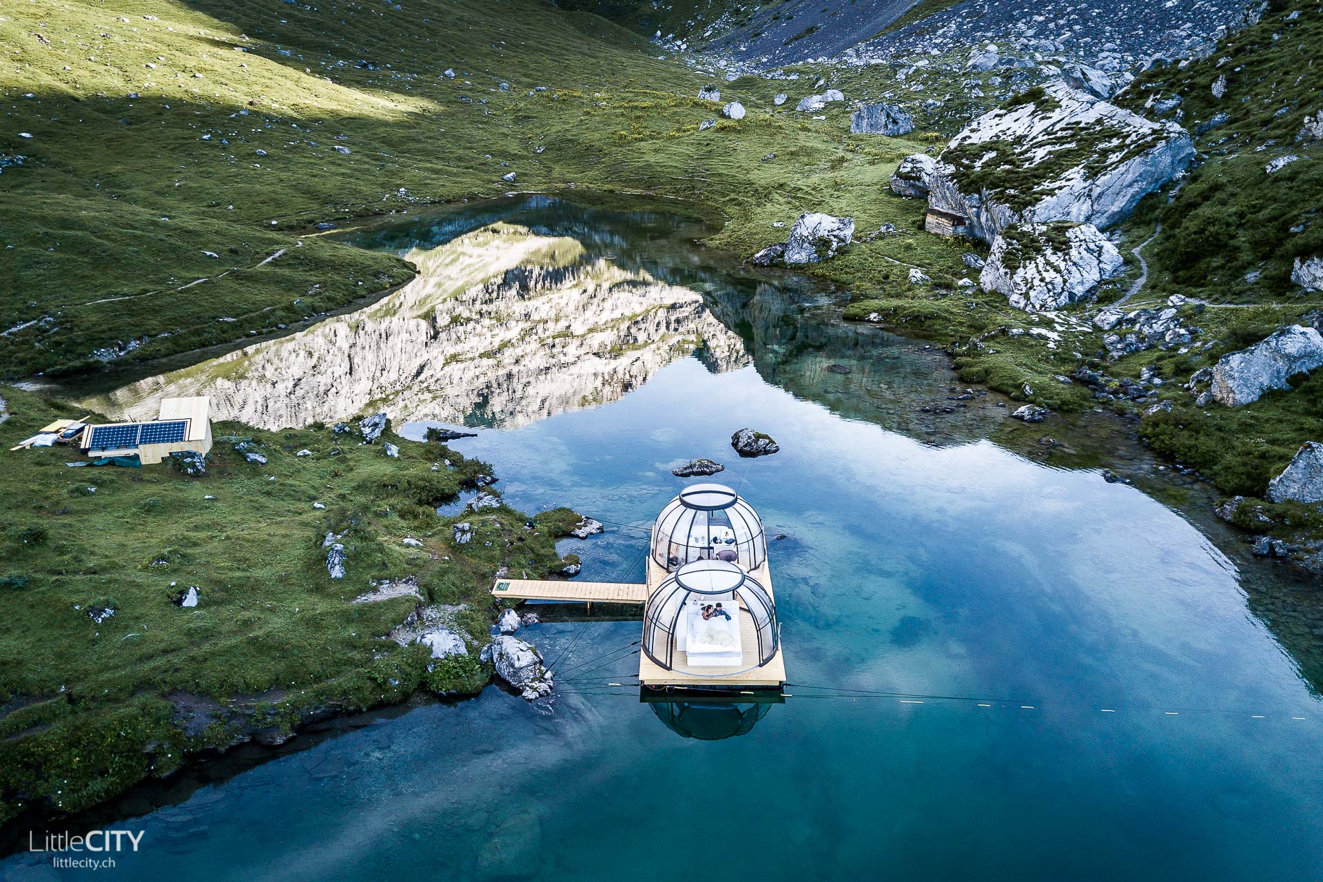 Bergsee Bungalow von LittleCITY.ch Valeria und Adi - Partnunsee
