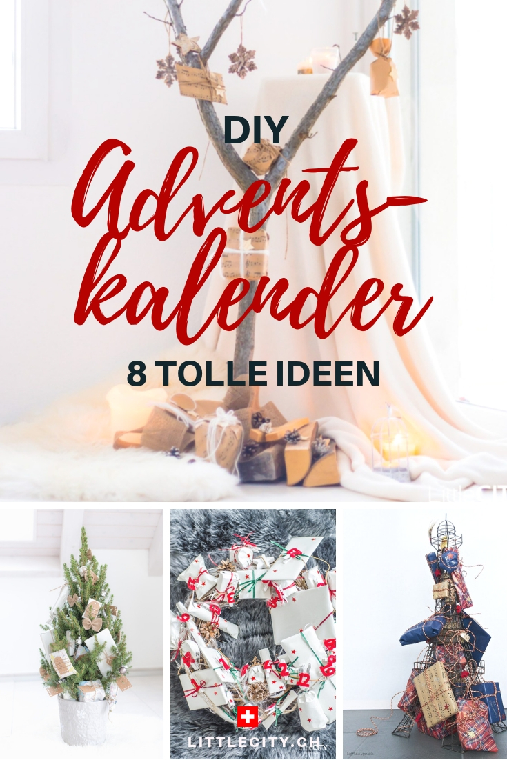8 DIY Adventskalender Ideen