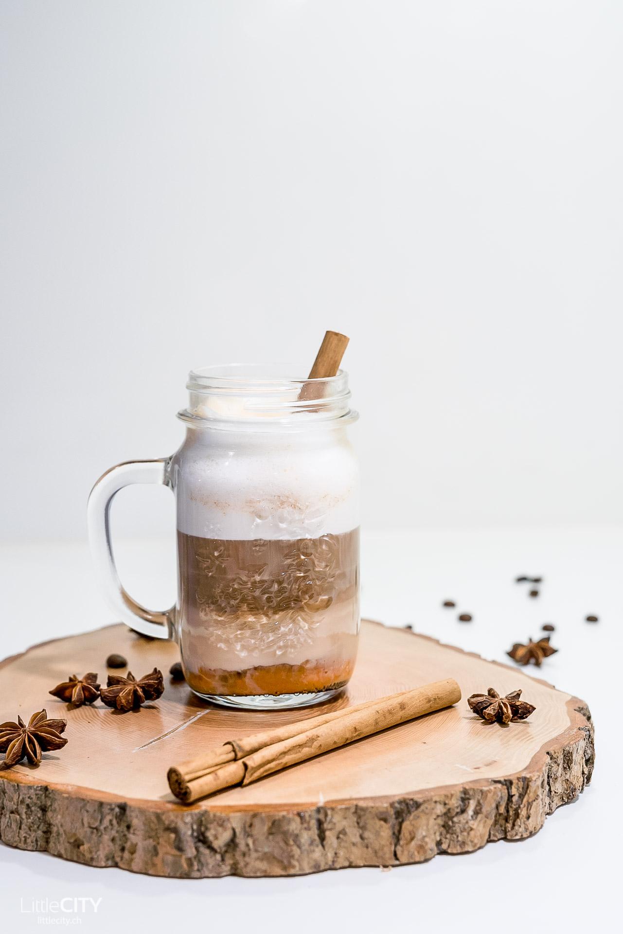 Pumking Spice Latte Rezept mit Kürbis