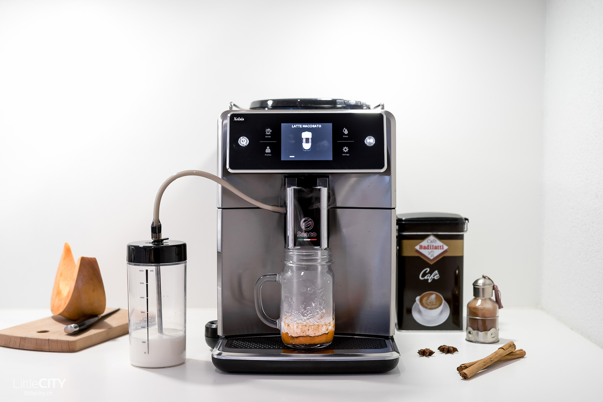 Saeco Xelsis Vollautomat Kaffeemaschine