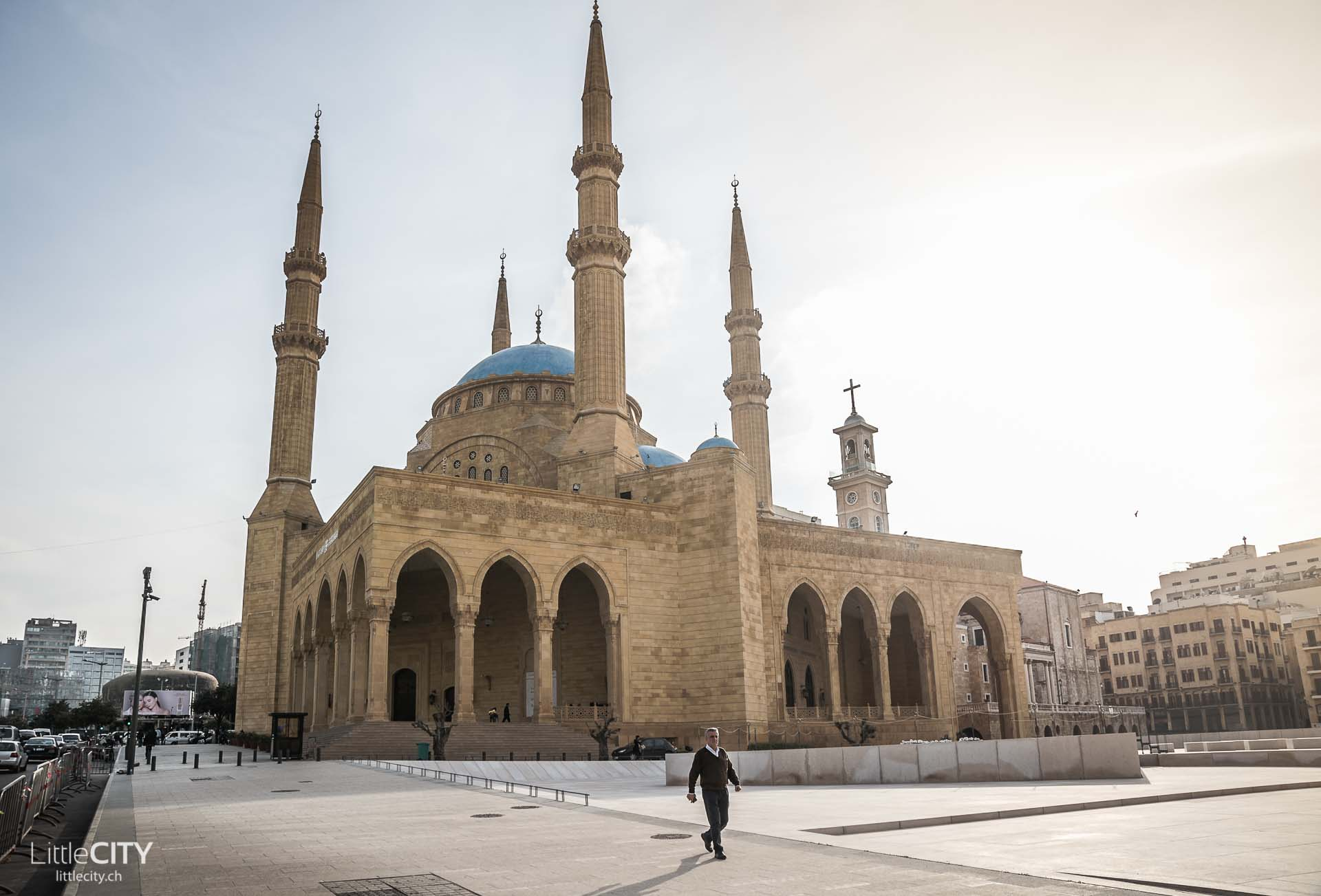 Mohammed-al-Amin-Moschee in Beirut