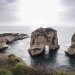 Pigeon Rocks Beirut Libanon