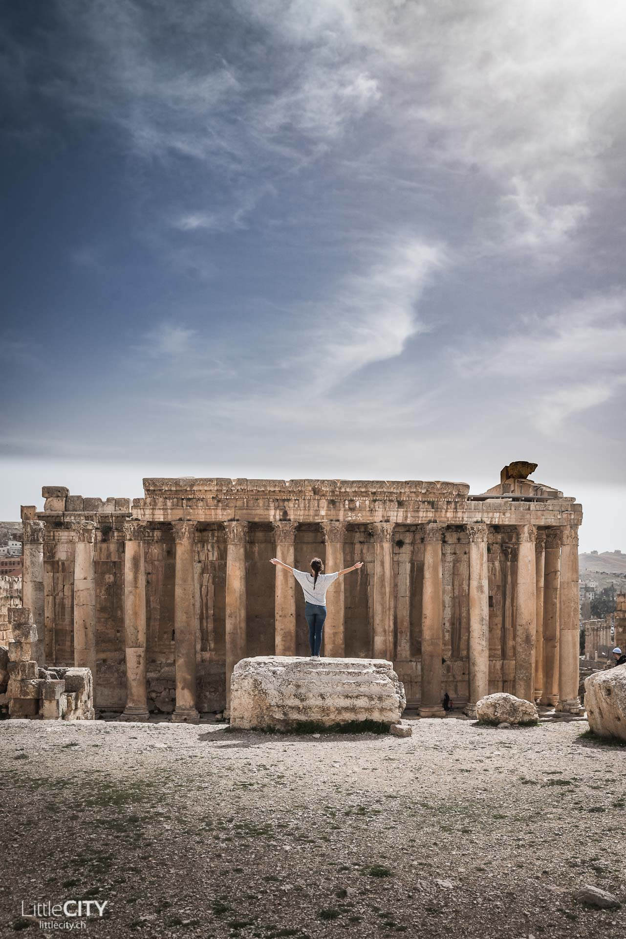 Baalbeck Tempelanlage Libanon Reisebericht