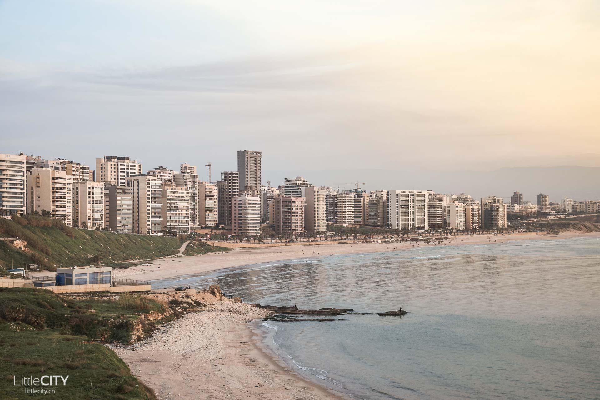 Beirut Reisetipps: Küste am Mittelmeer