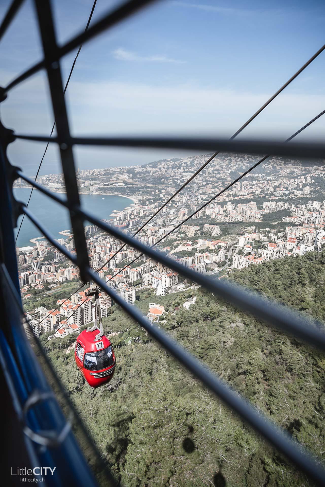 Libanon Reisebericht: Harissa Téléferique