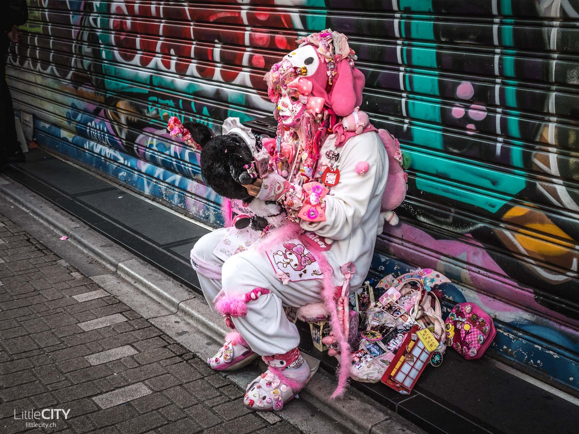 Harajuku Streetstyle Cospay Hello oKitty