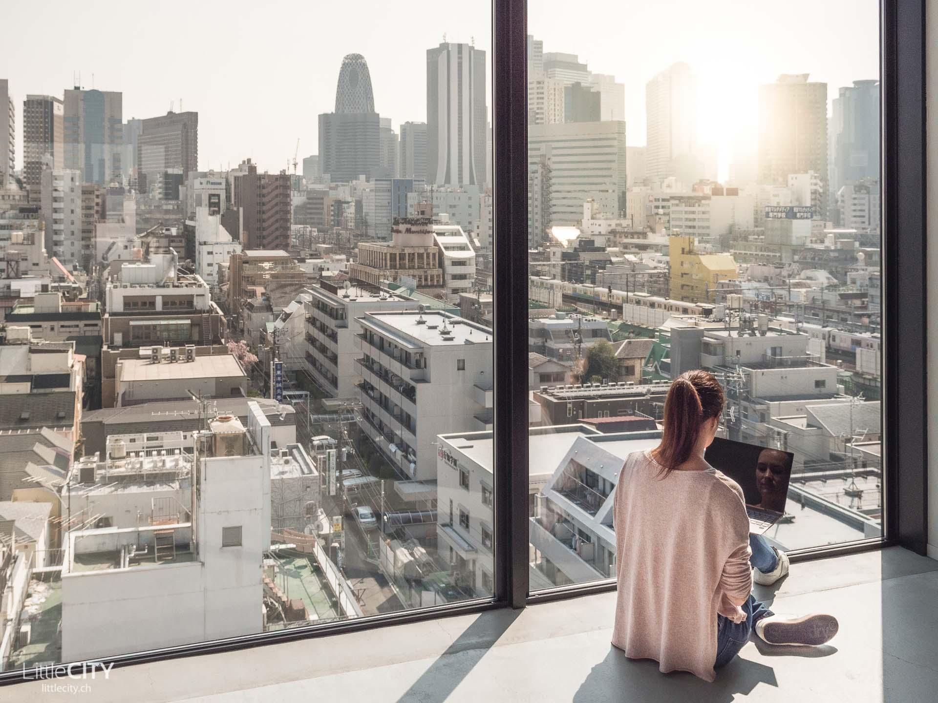 Tokio Reisetips Capsule Hotel Shinjuku