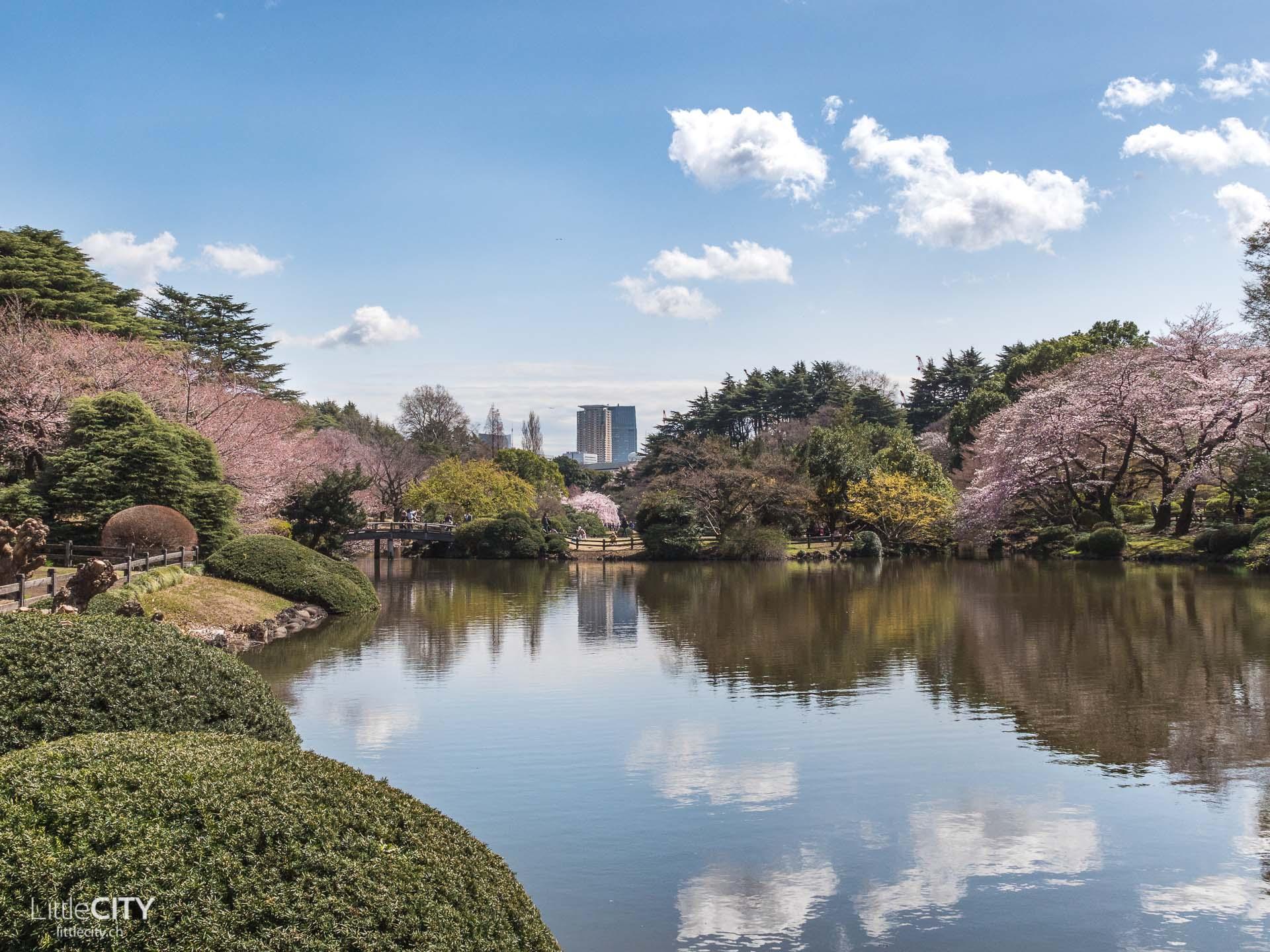 Shinjuku Goyen Park - Tokio Sehenswürdigkeiten