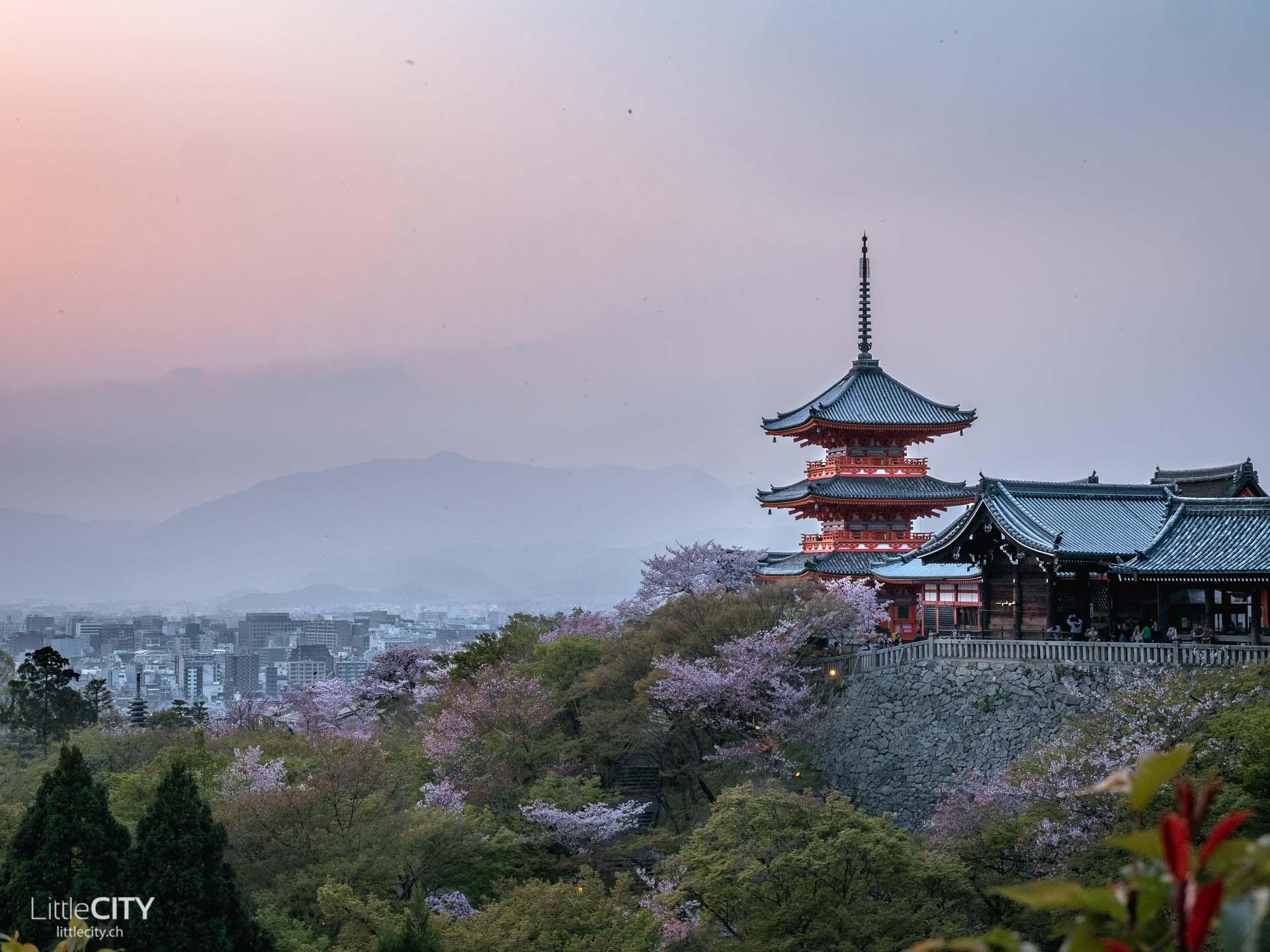 Kiyomizu-Dera Tempel Kyoto