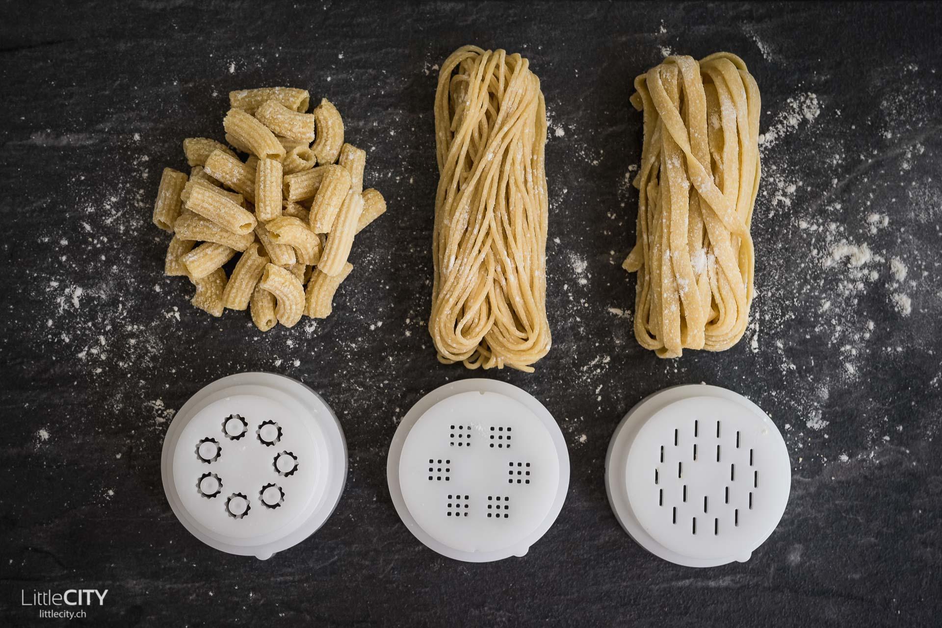 Pastamaker von Philips Aufsätze