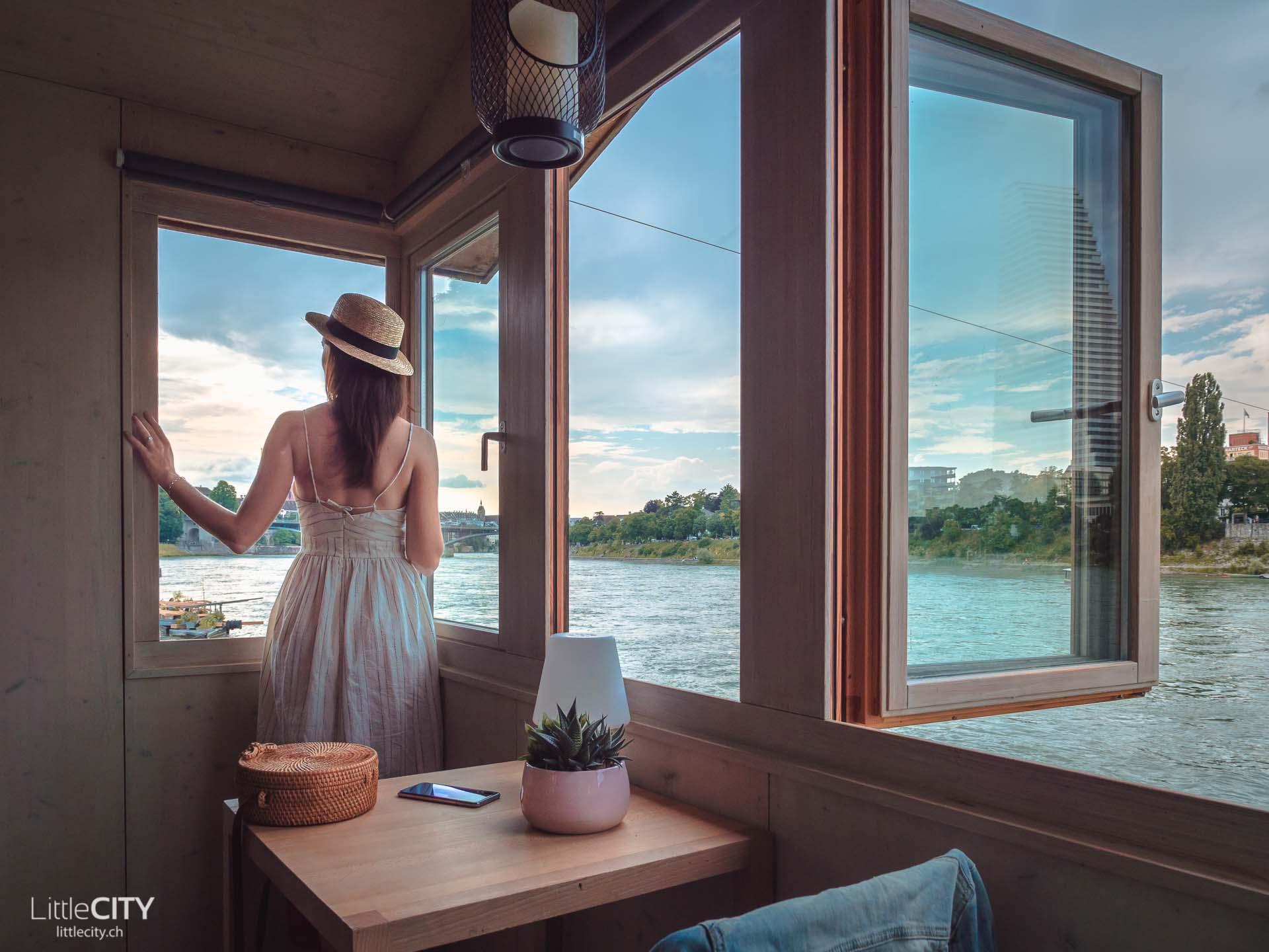 Basel Sehenswürdigkeiten Fischergalgen Rhein