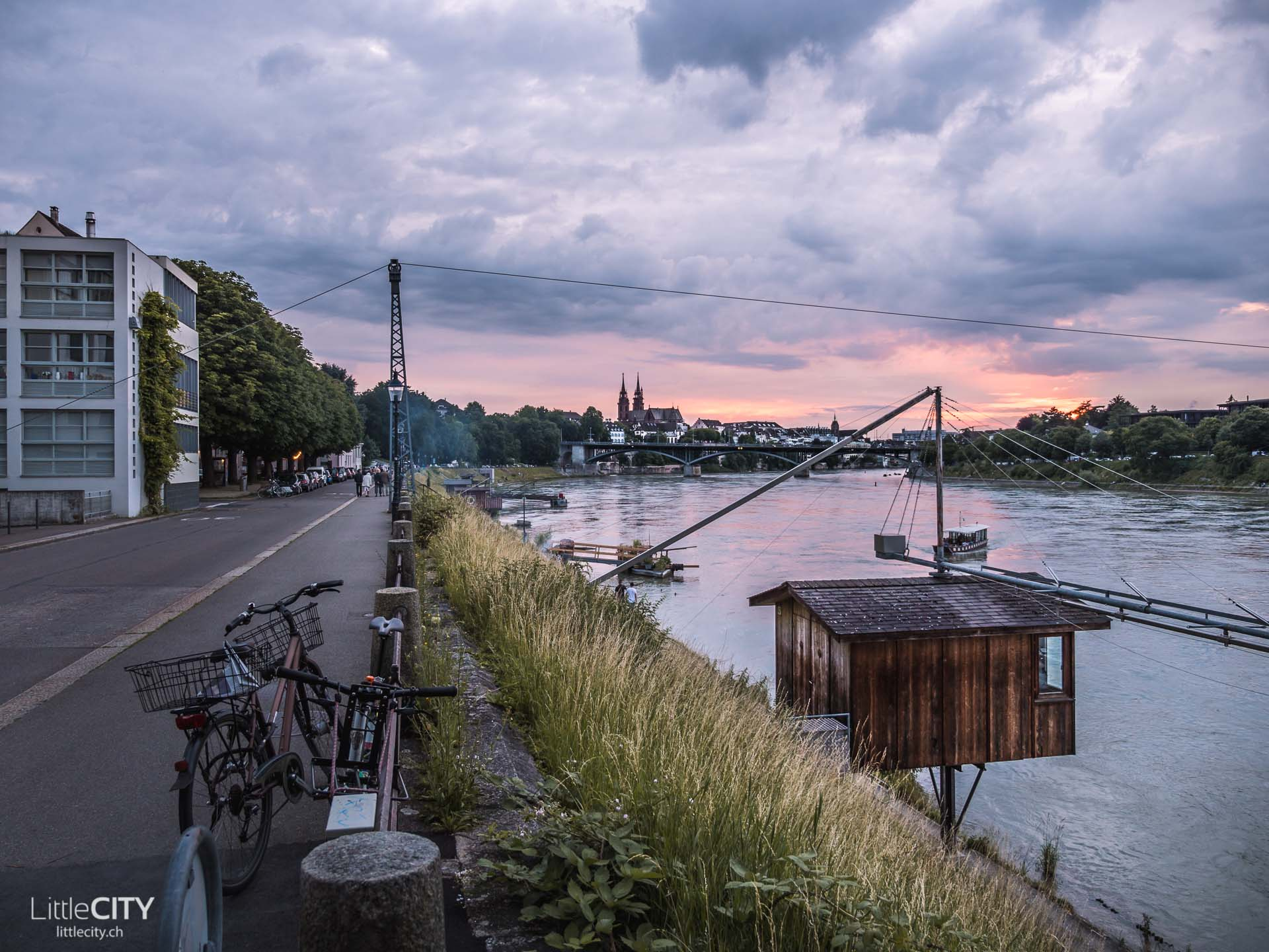 Basel Sehenswürdigkeit Rhein