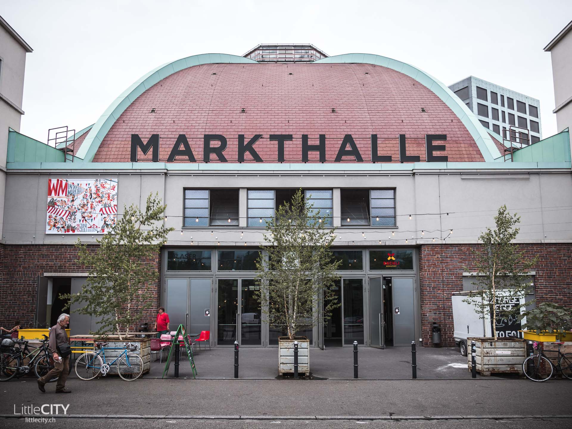 Basel Sehenswürdigkeiten Markthalle