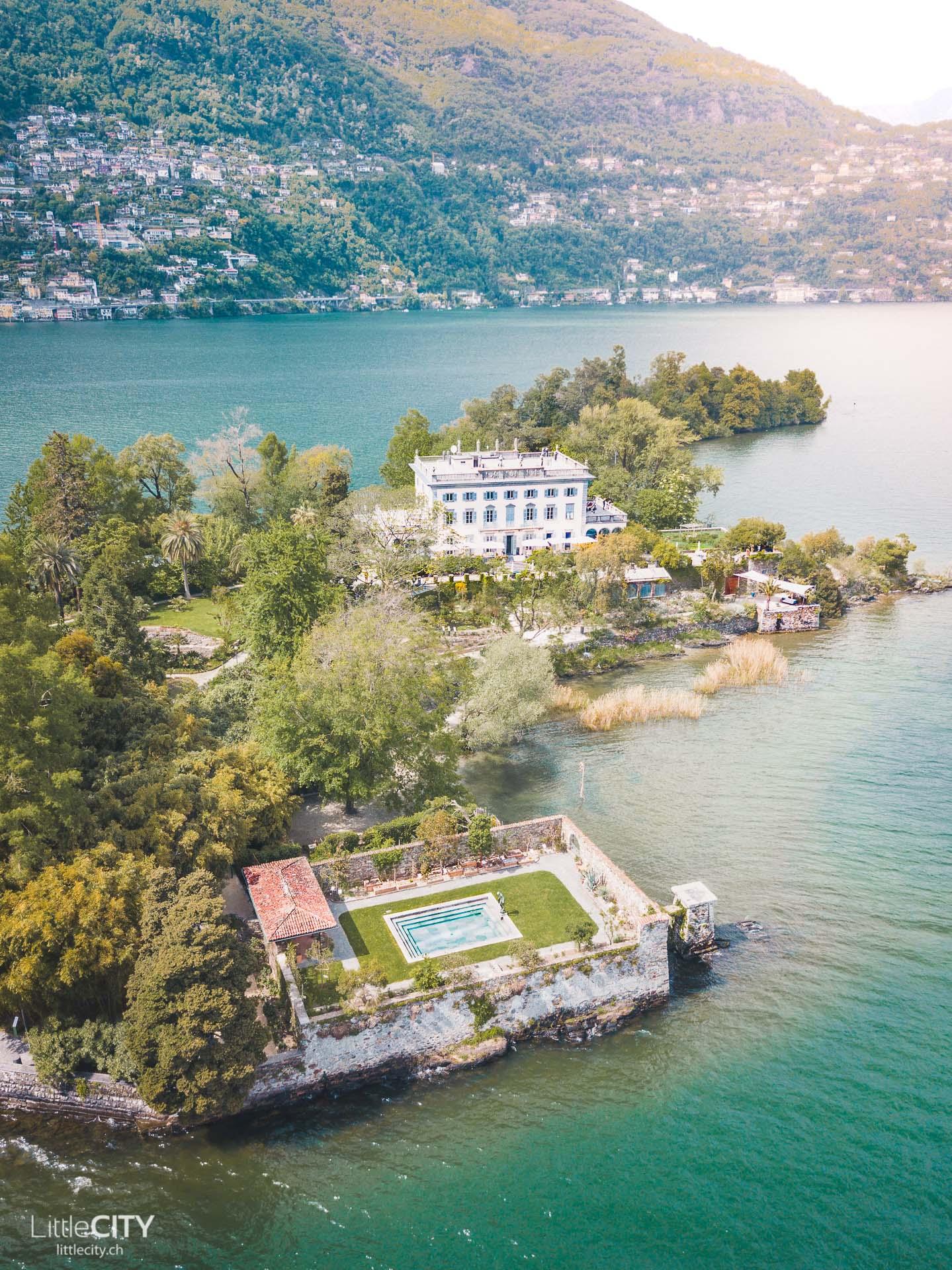 Brissago Inseln Lago Maggiore Isola Grande
