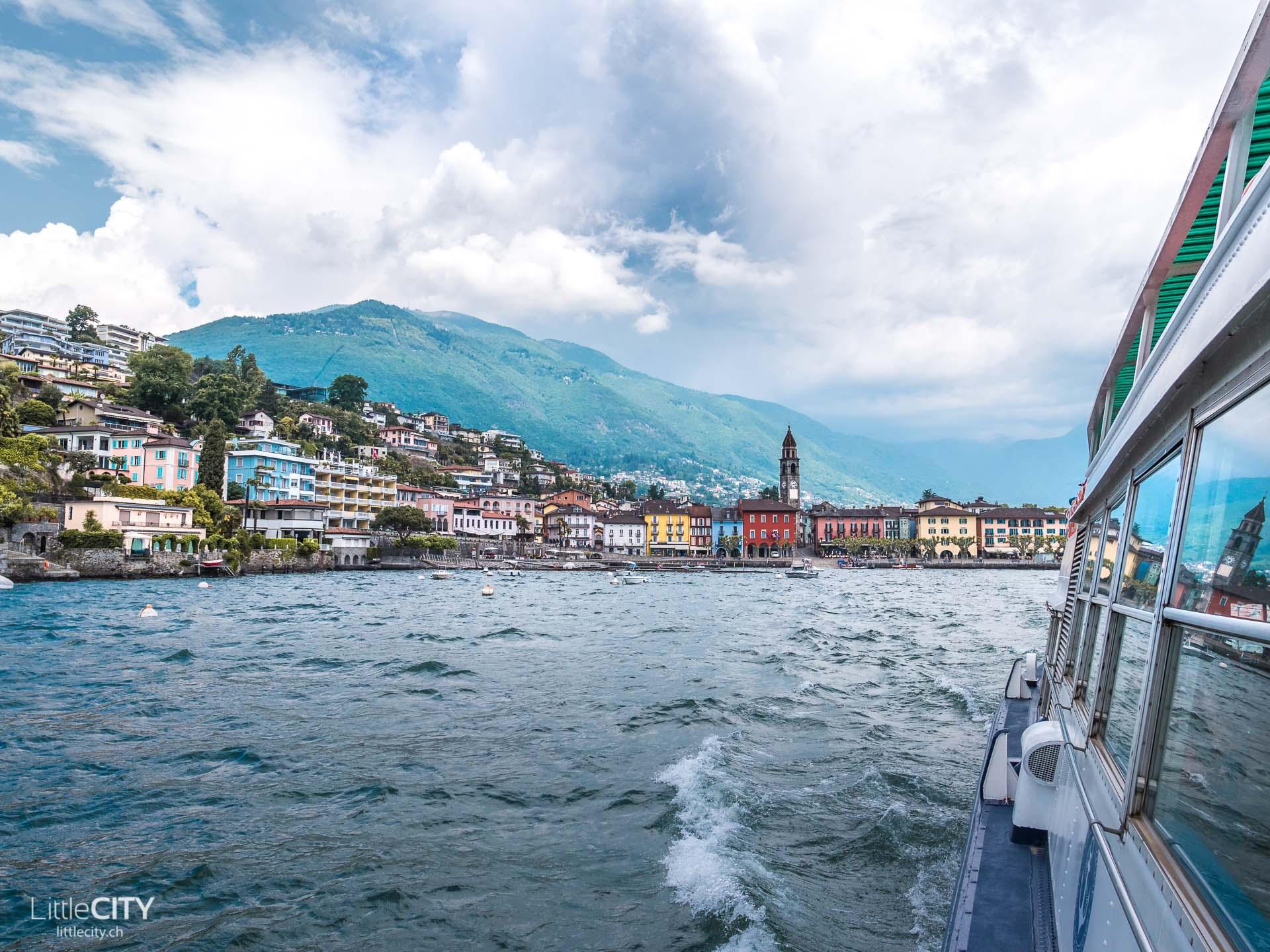 Brissago Inseln Schiff Ascona