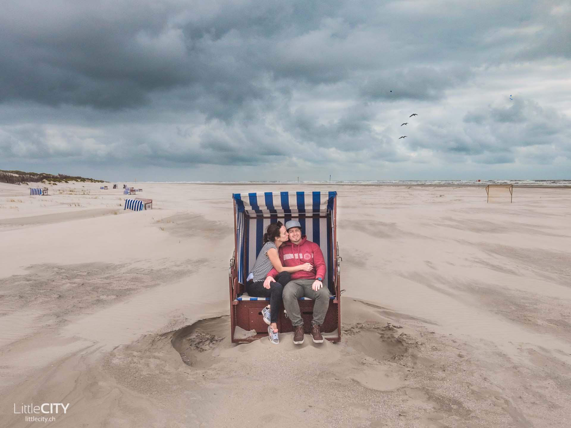 Nordsee Norderney Strandkorb