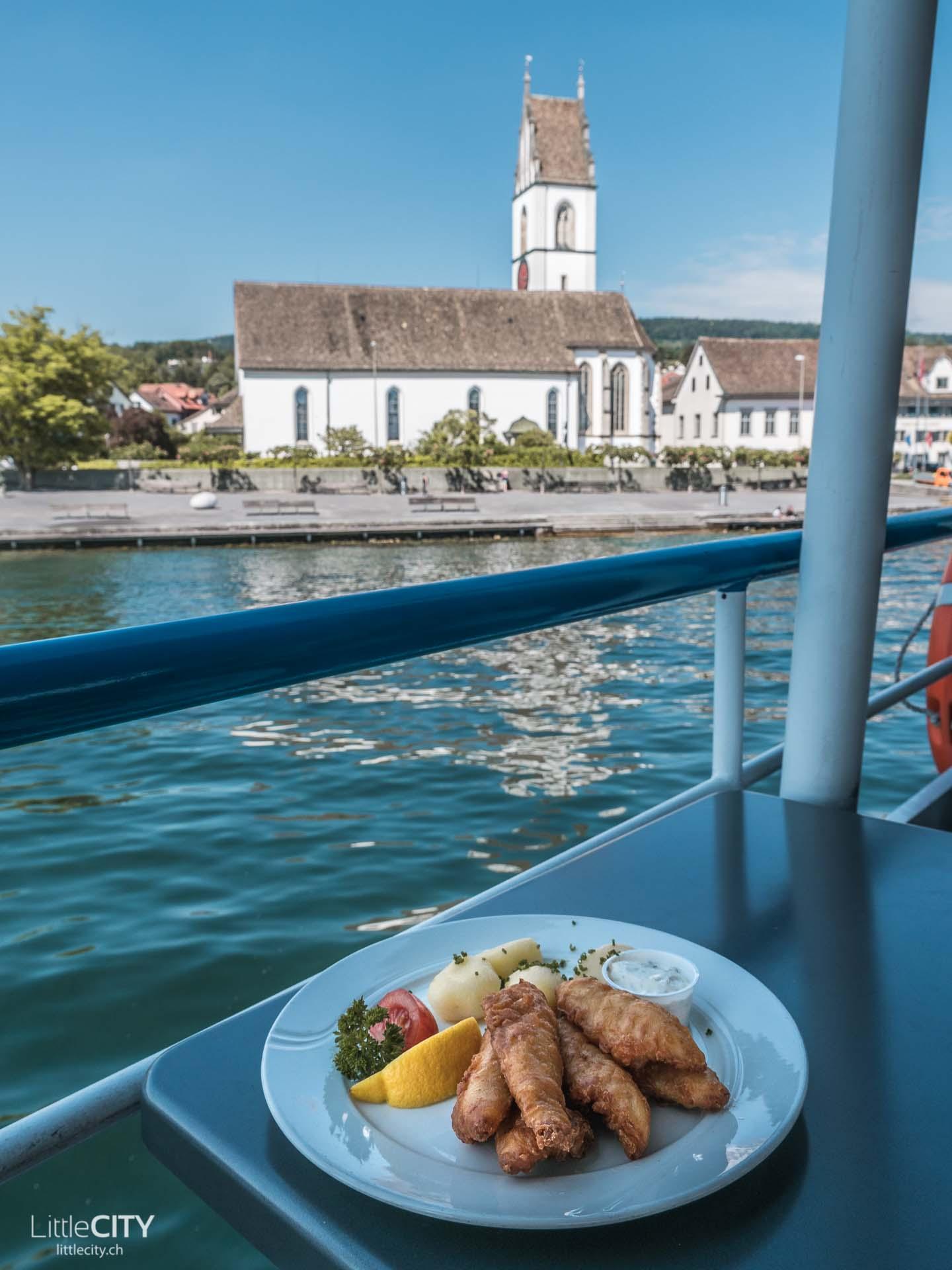 Zürichsee Schifffahrt Restaurant