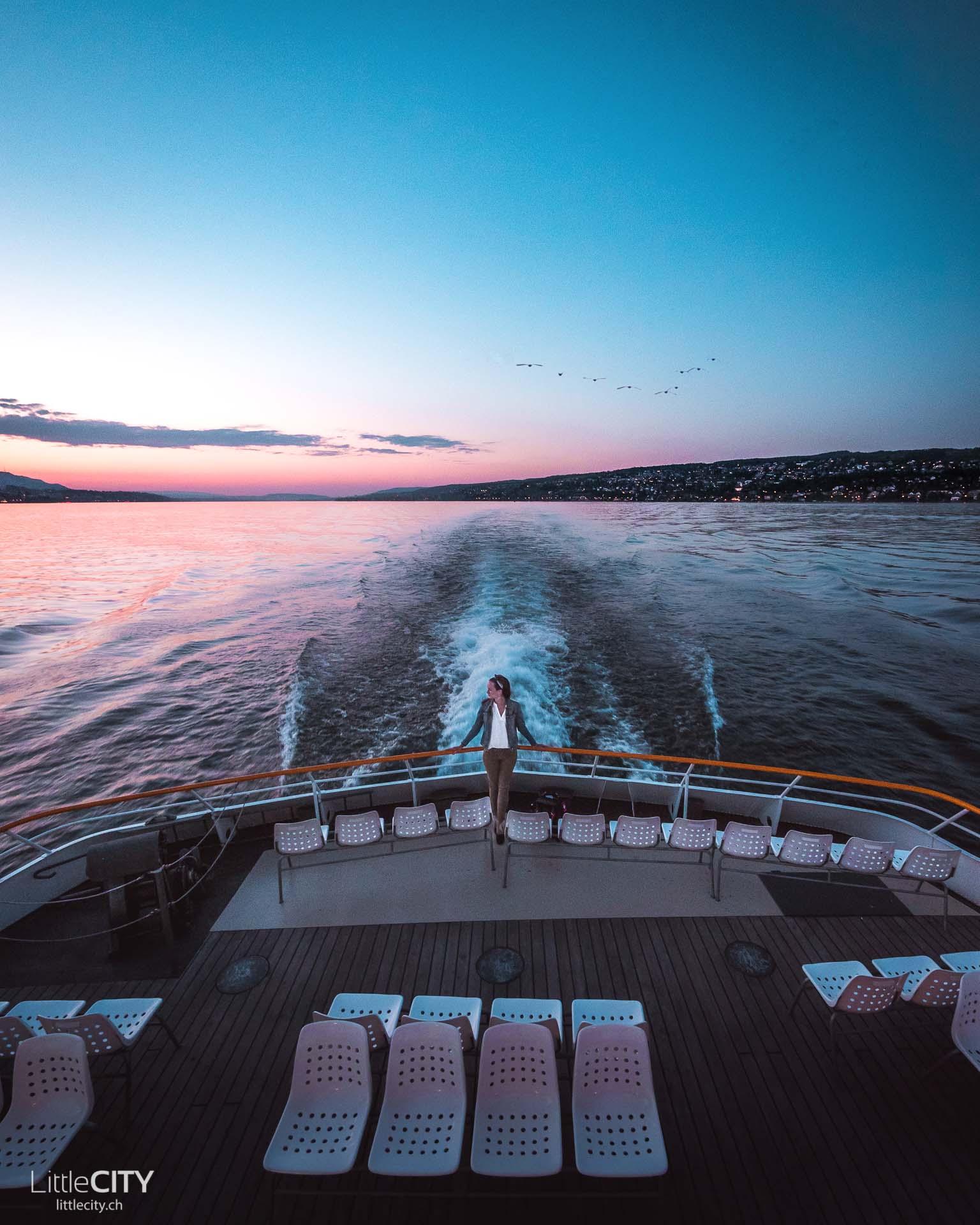 Zürich Sehenswürdigkeiten Insel Ufenau Schiff Anreise
