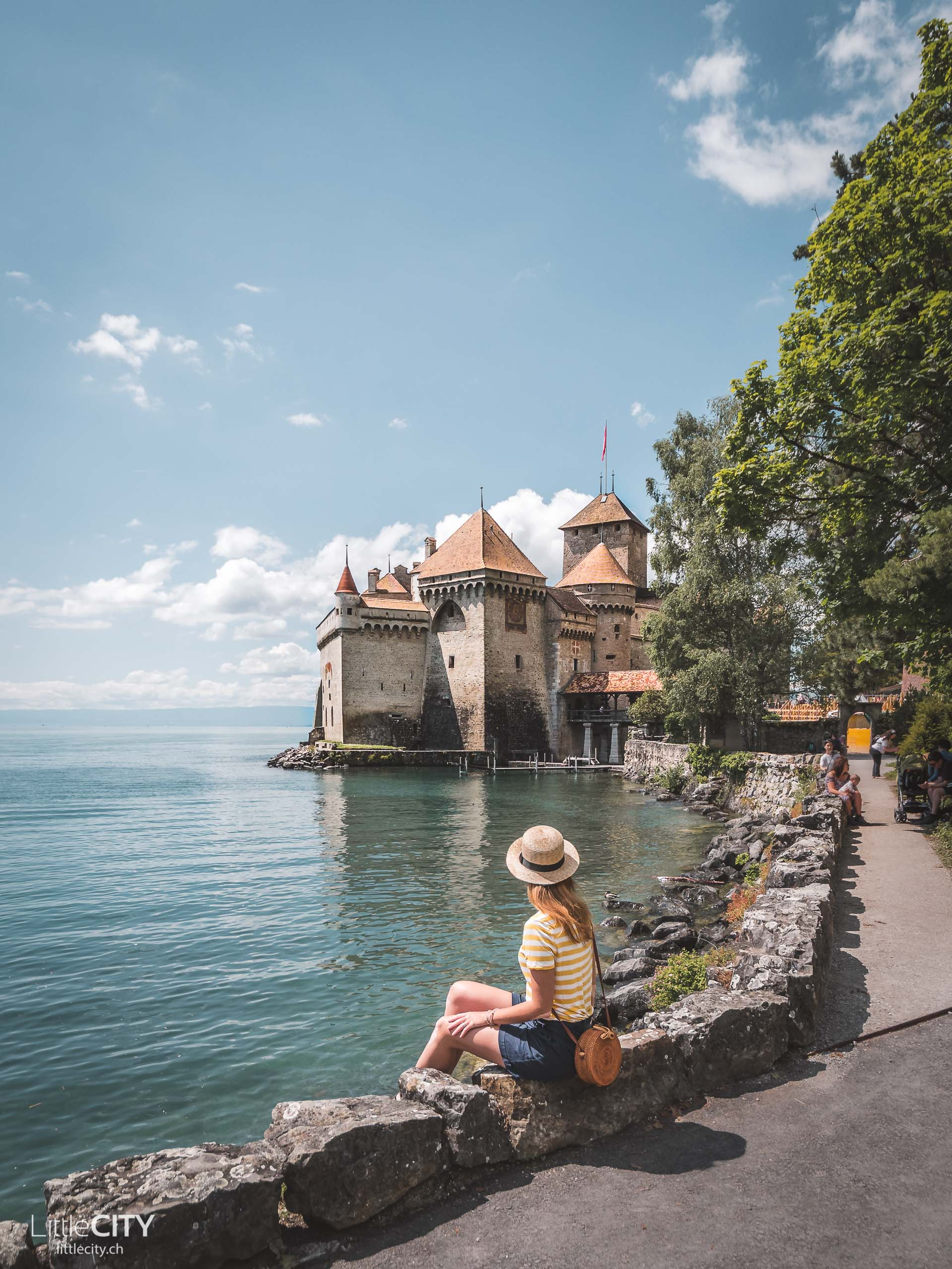 Schloss Chillon Montreux Genfersee