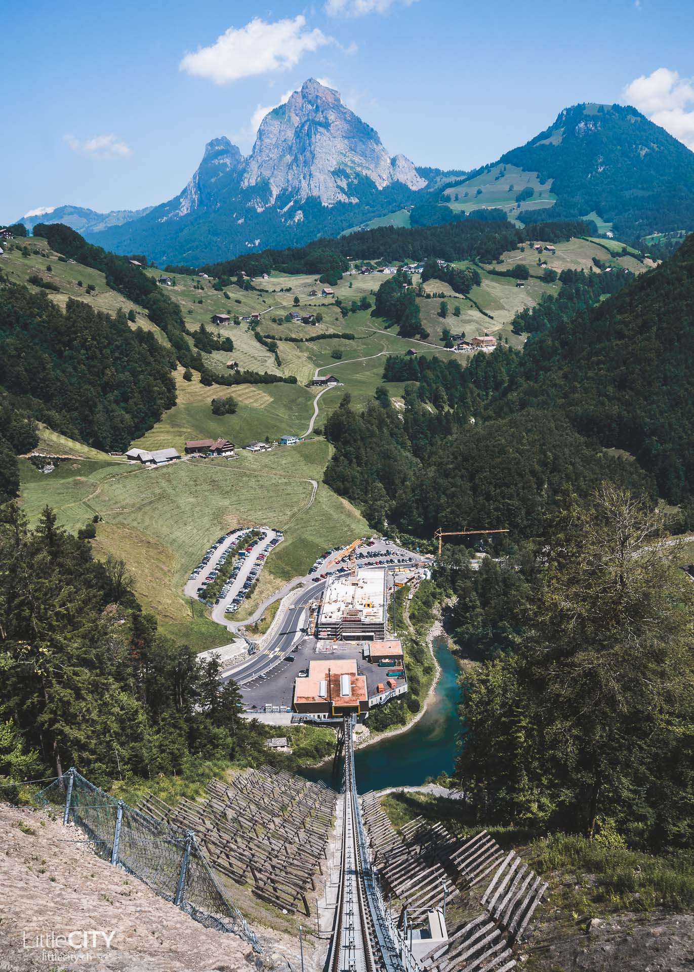 Fronalpstock Anreise Stoos Bahn