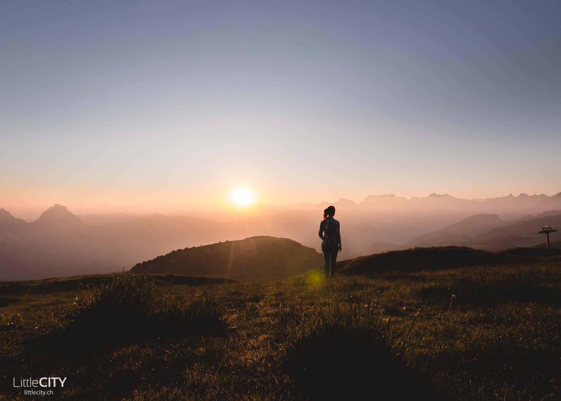 Fronalpstock Sonnenuntergang