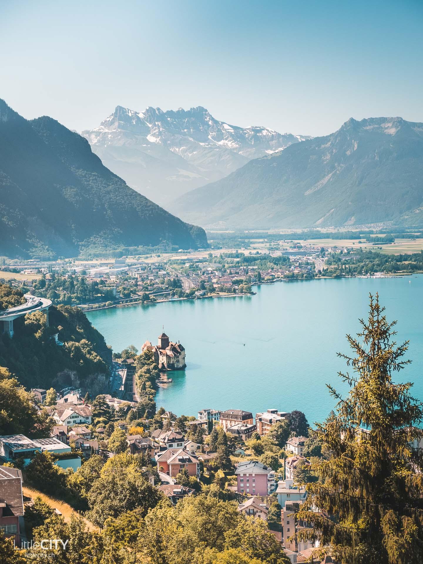 Rochers de Naye Ausflug Montreux Schloss Chillon